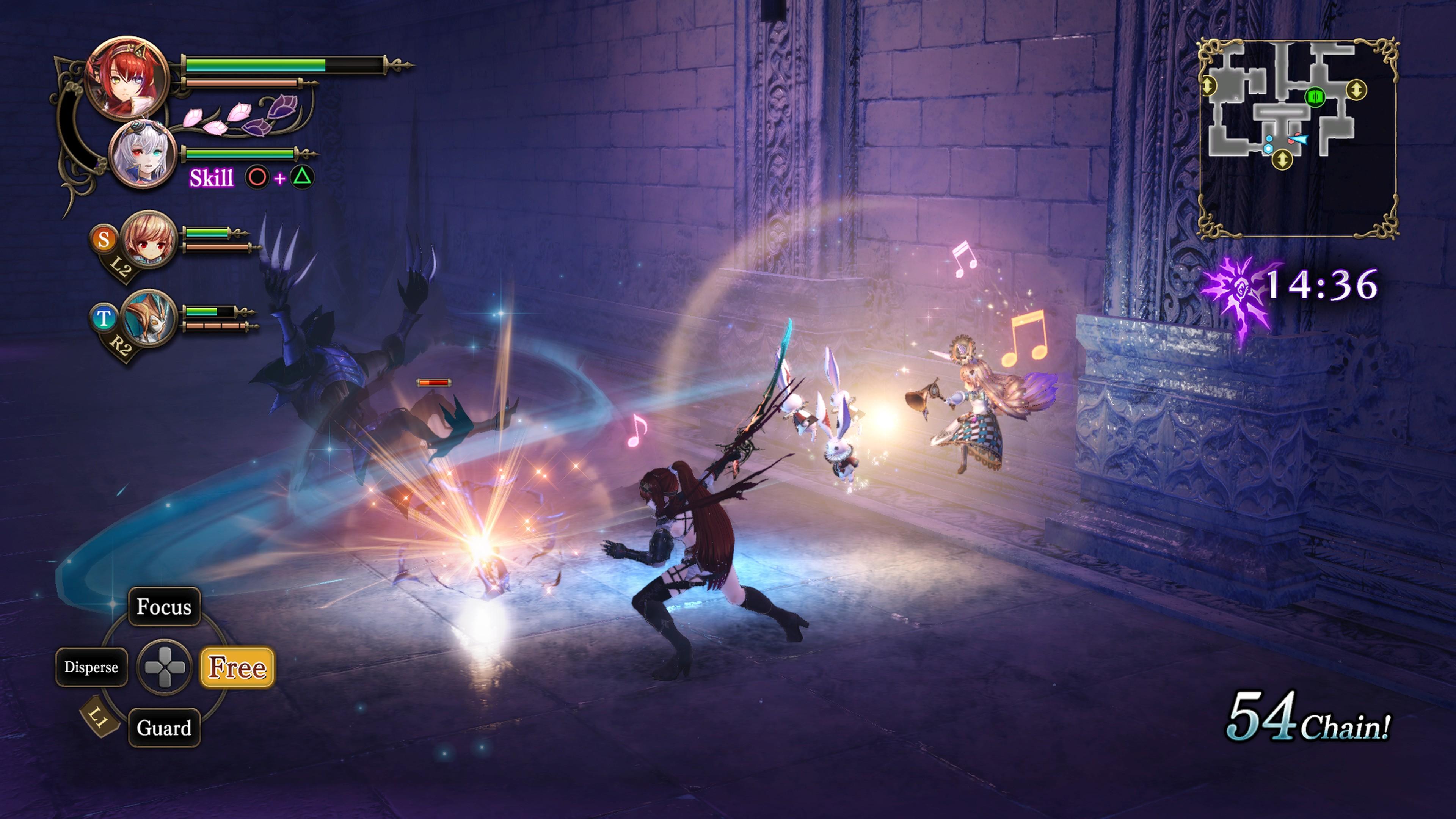 Detaily bojového sytému Nights of Azure 2 a bonusy po vydání 149831
