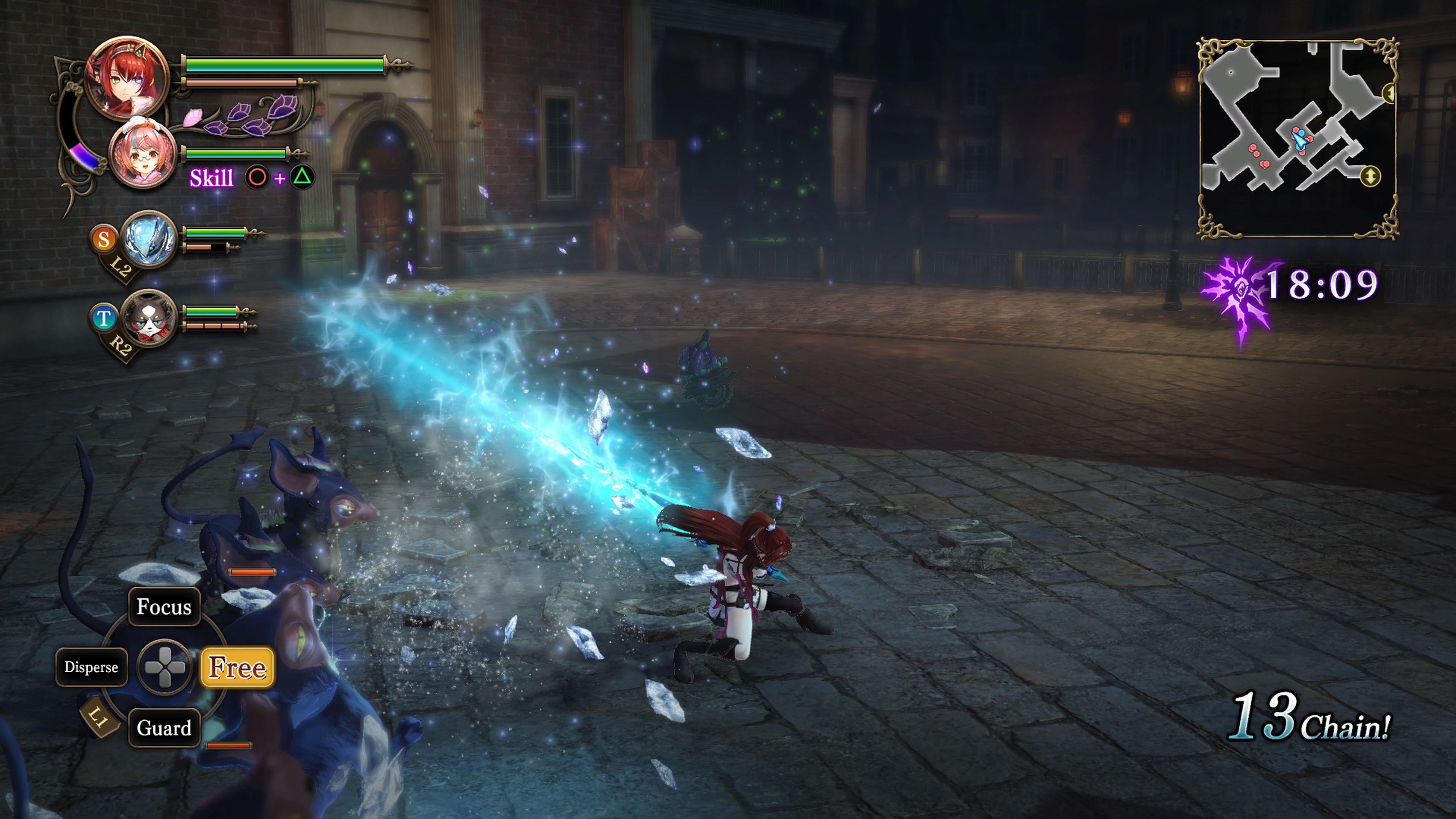 Detaily bojového sytému Nights of Azure 2 a bonusy po vydání 149834