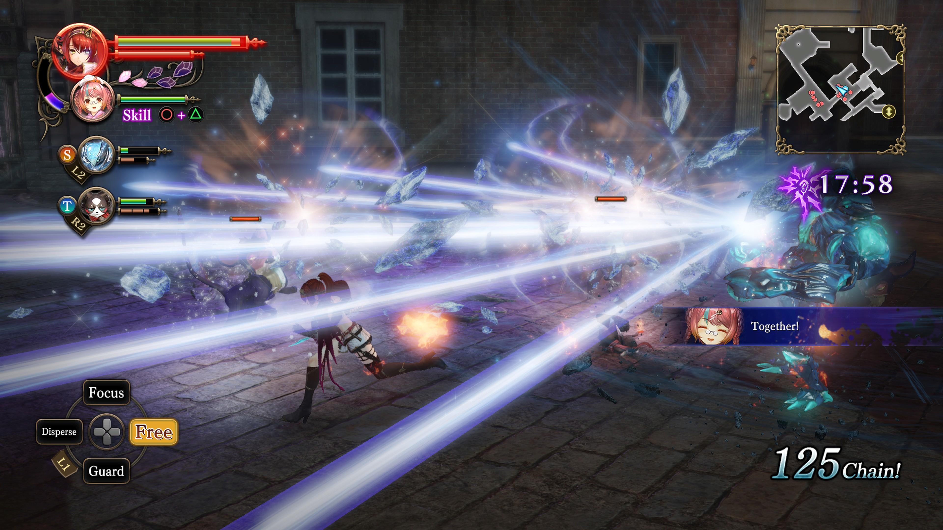 Detaily bojového sytému Nights of Azure 2 a bonusy po vydání 149835