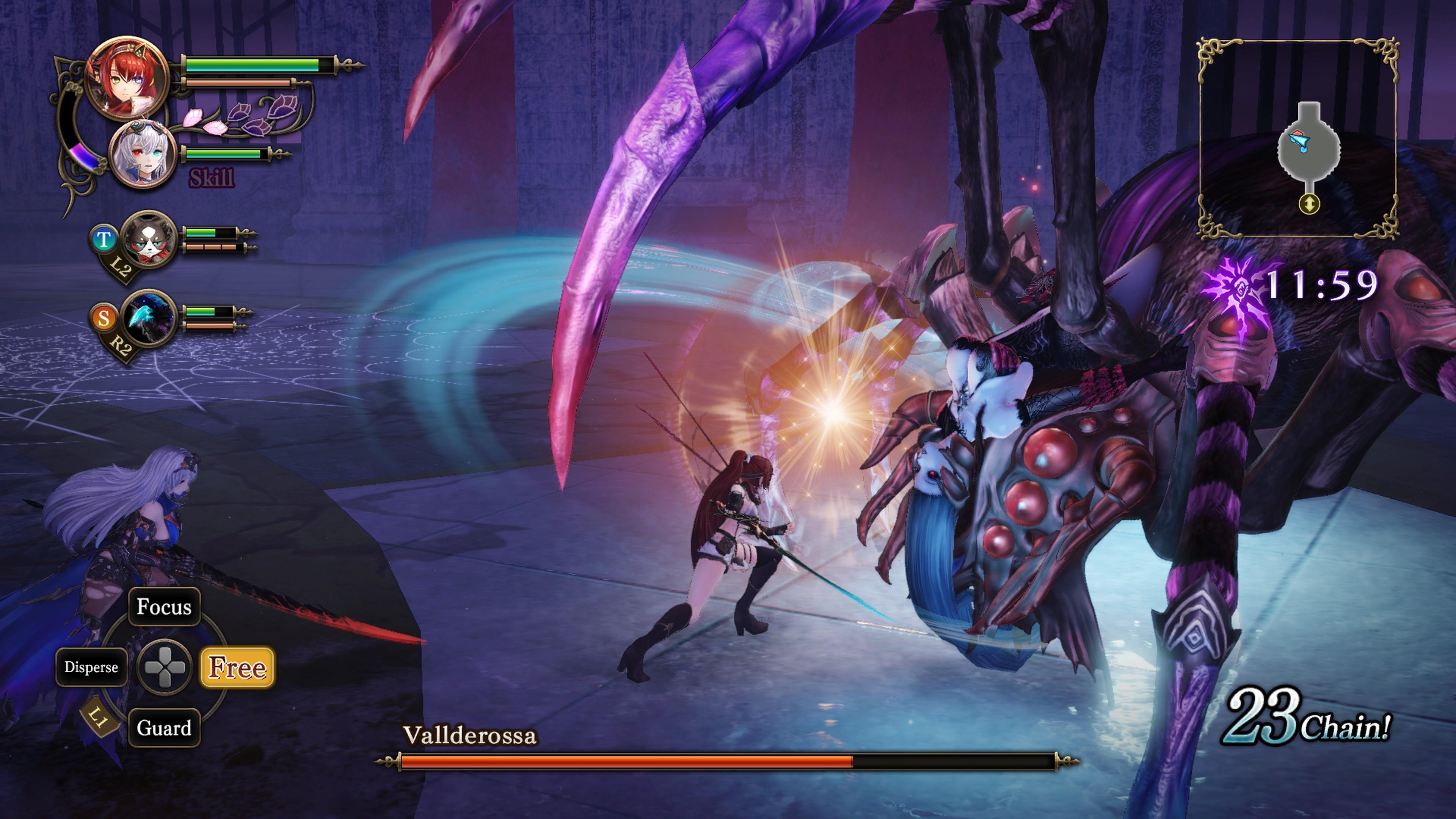 Detaily bojového sytému Nights of Azure 2 a bonusy po vydání 149838