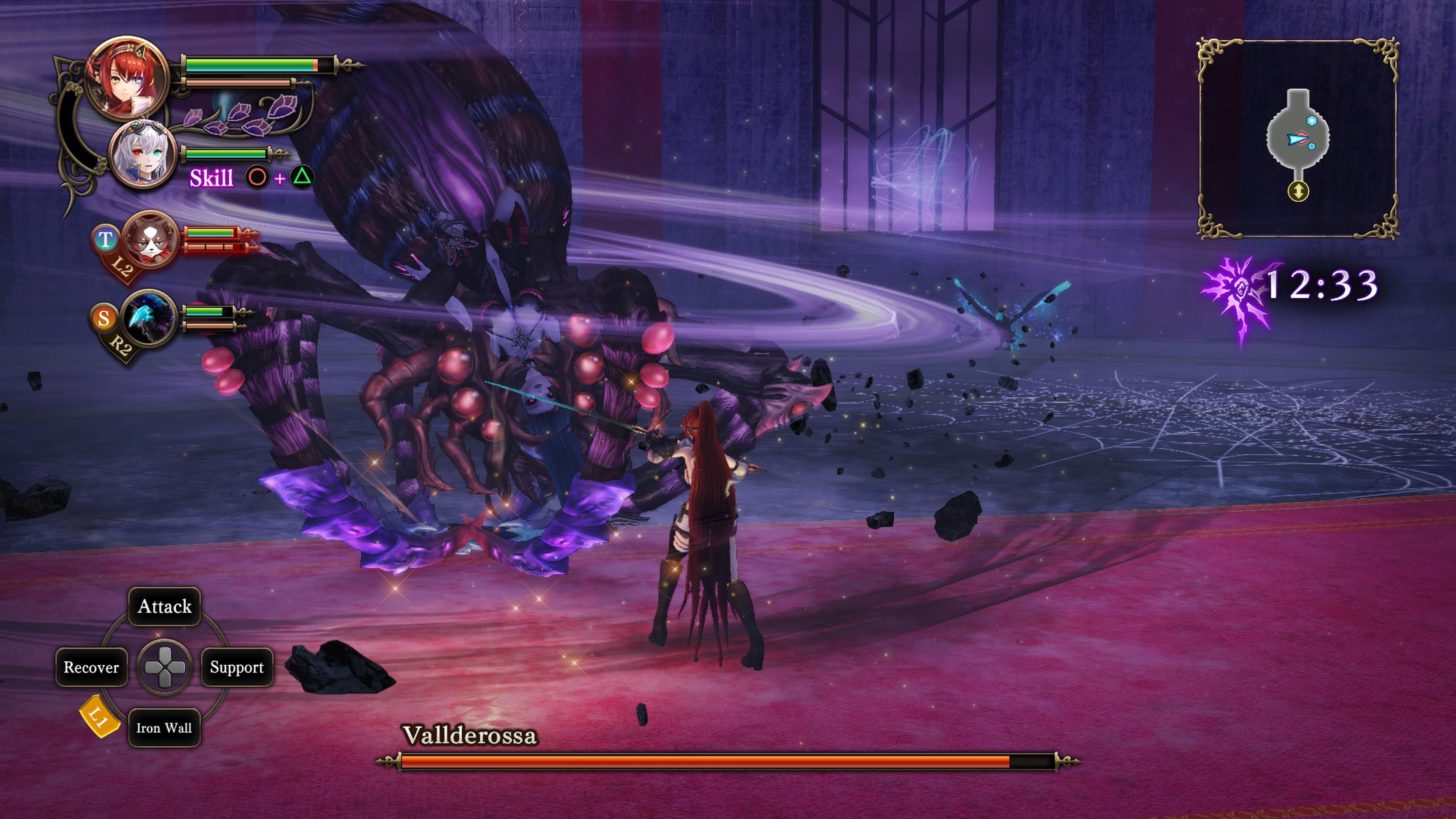 Detaily bojového sytému Nights of Azure 2 a bonusy po vydání 149840