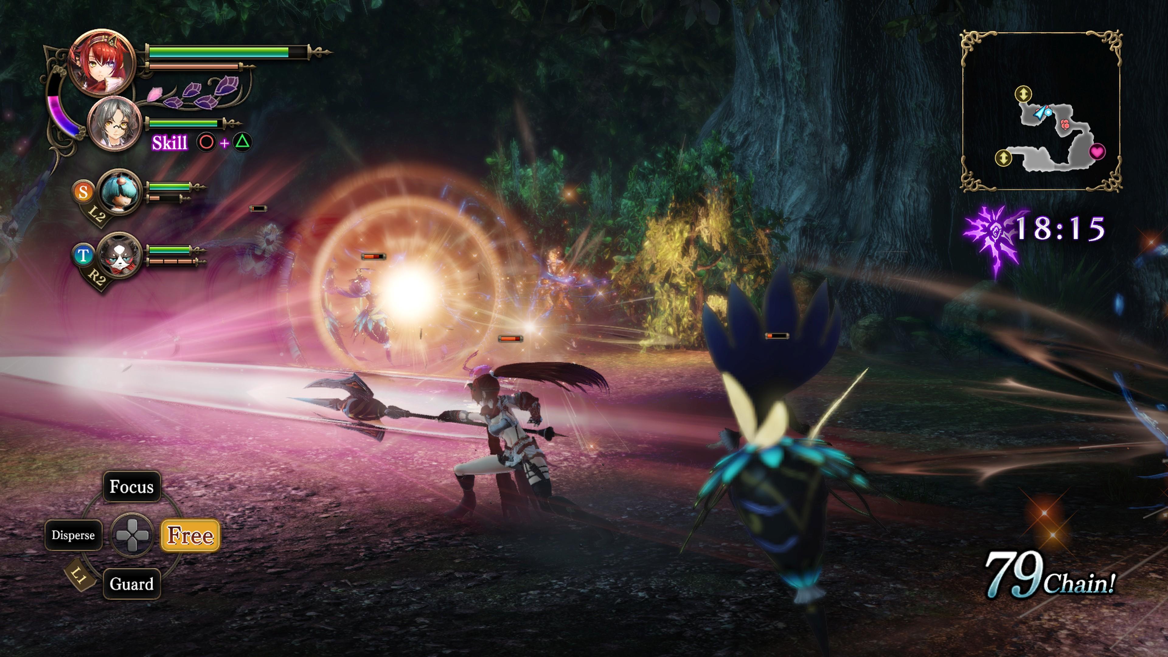 Detaily bojového sytému Nights of Azure 2 a bonusy po vydání 149847