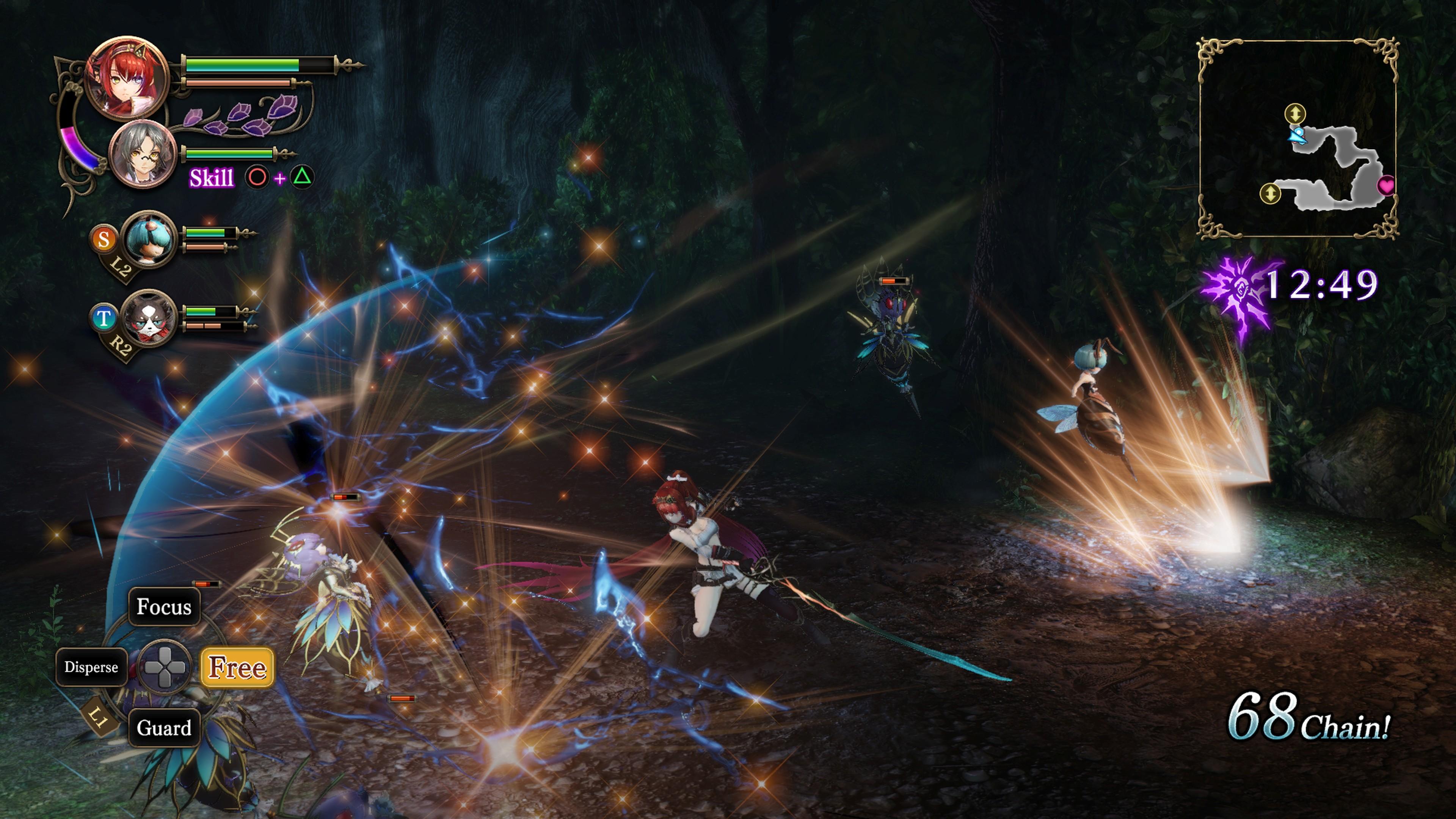 Detaily bojového sytému Nights of Azure 2 a bonusy po vydání 149848