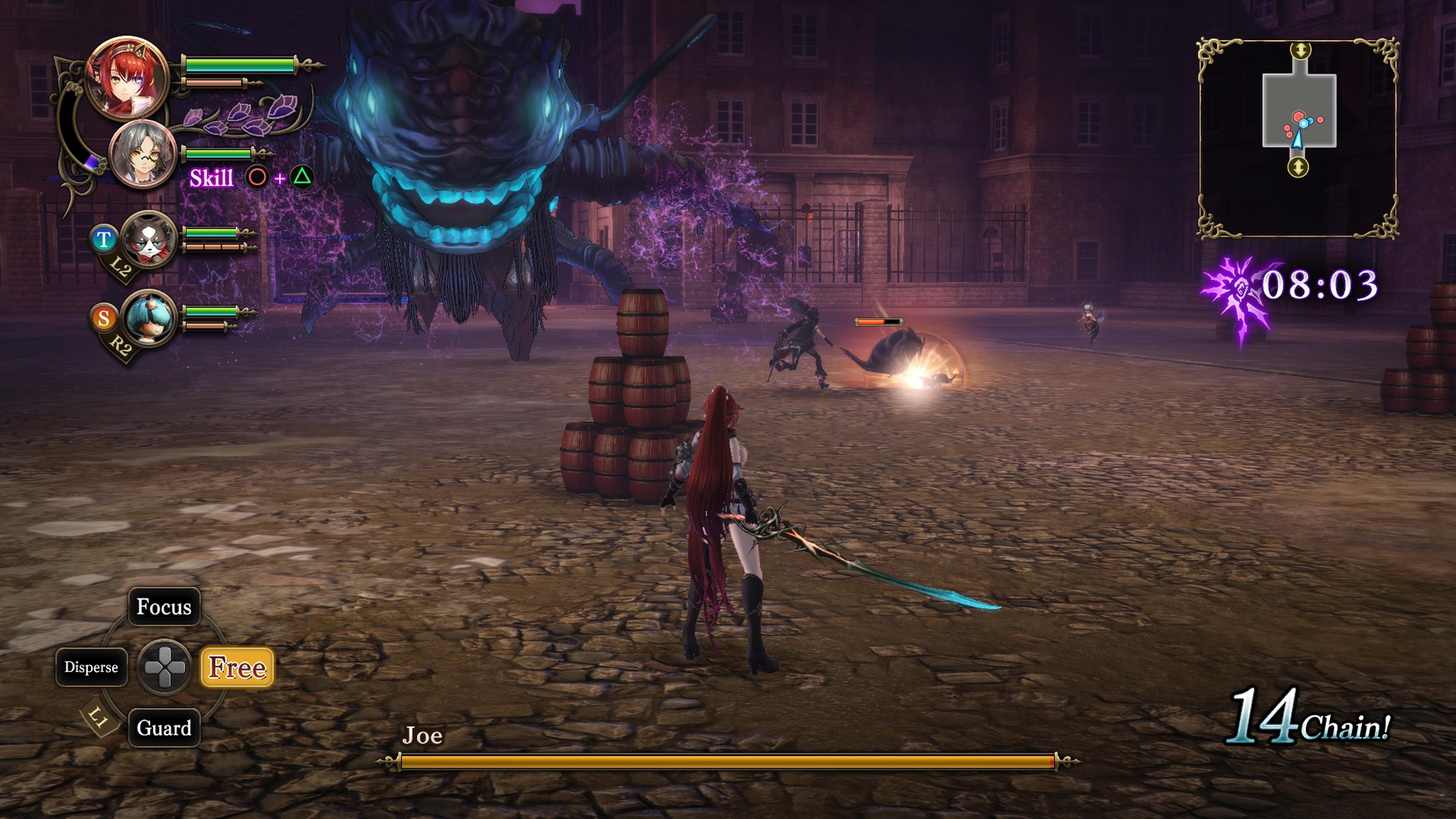 Detaily bojového sytému Nights of Azure 2 a bonusy po vydání 149850