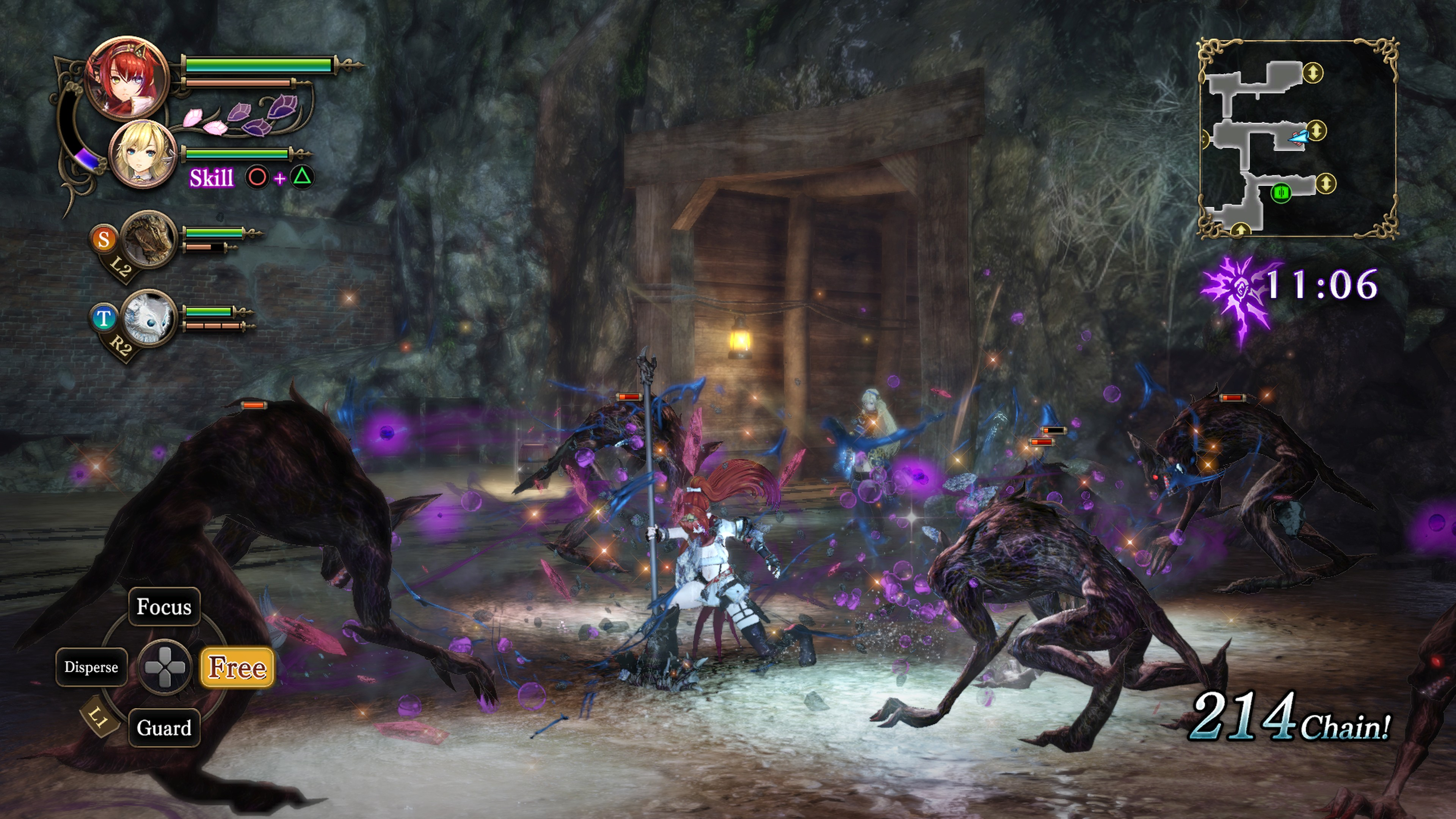 Detaily bojového sytému Nights of Azure 2 a bonusy po vydání 149851