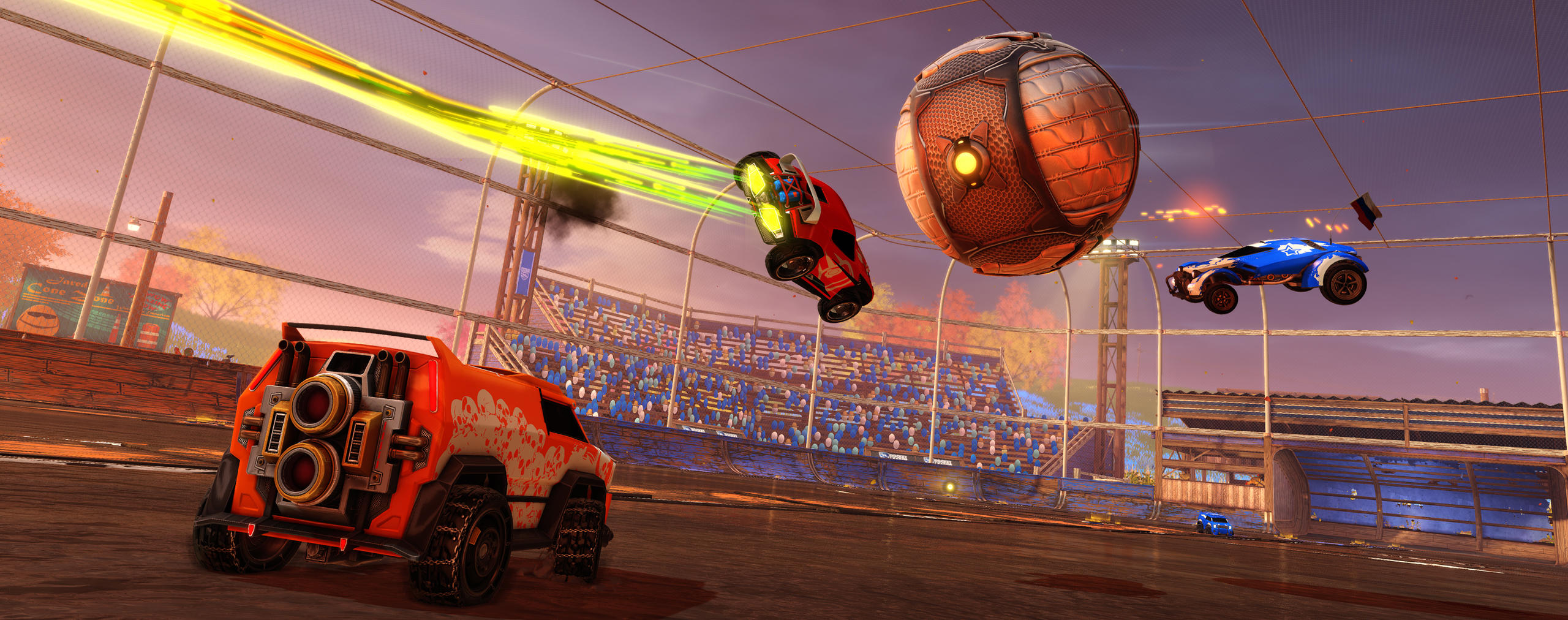 Podzimní aktualizace Rocket League je nacpaná novým obsahem 149854