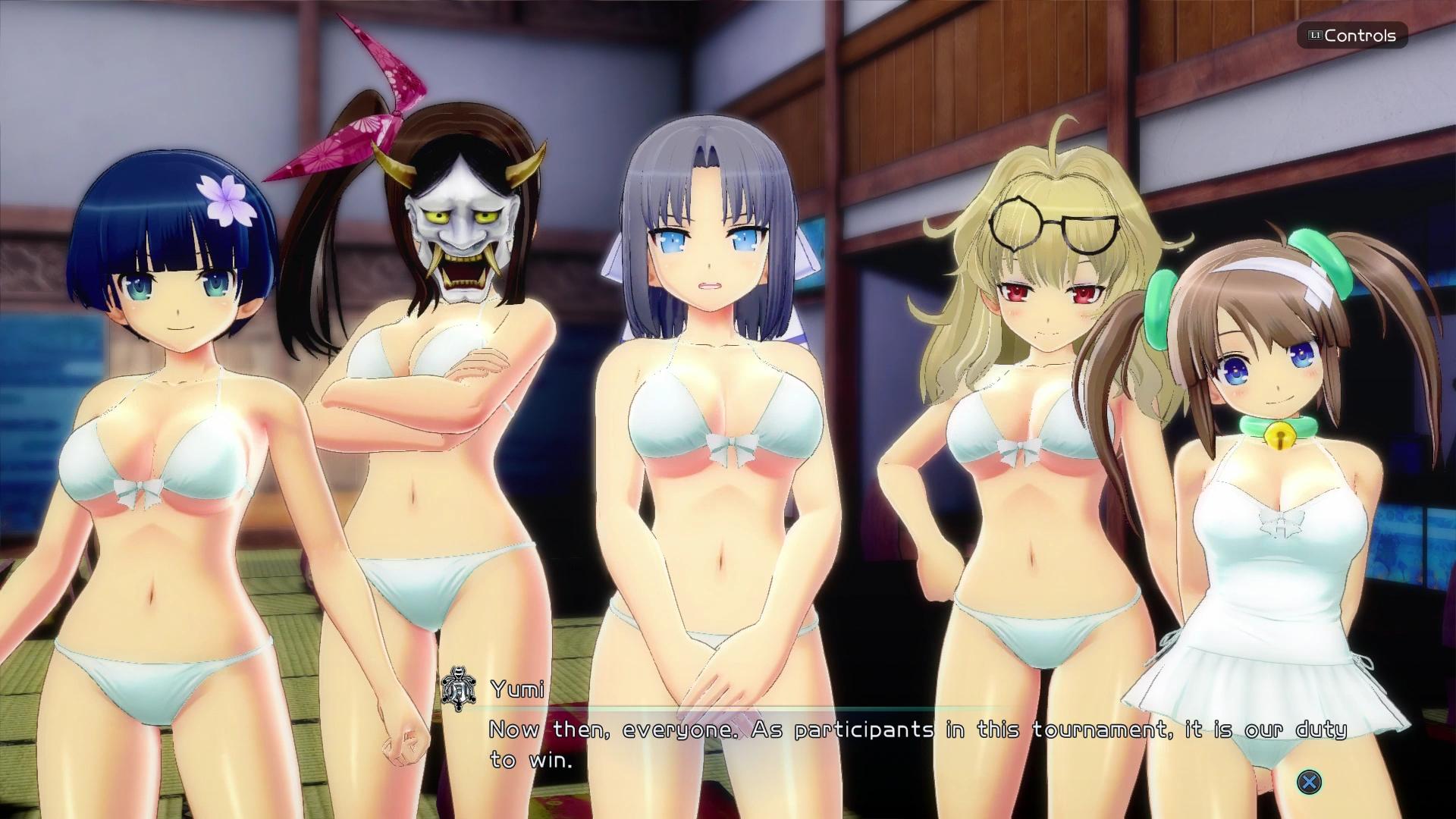Senran Kagura: Peach Beach Splash uvádí: Gessen Girls' Academy a Hanzo National Academy 149868