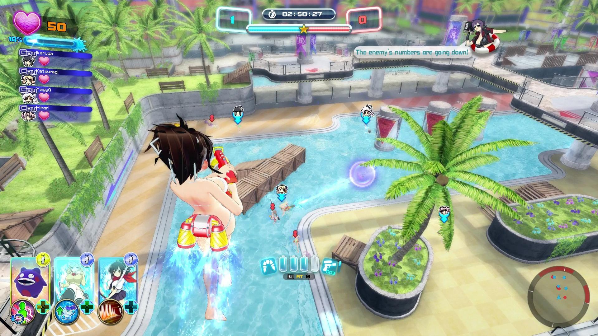 Senran Kagura: Peach Beach Splash uvádí: Gessen Girls' Academy a Hanzo National Academy 149872