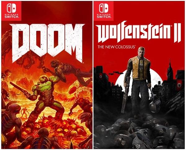 Wolfenstein 2: The New Colossus a Doom míří na Switch 149878