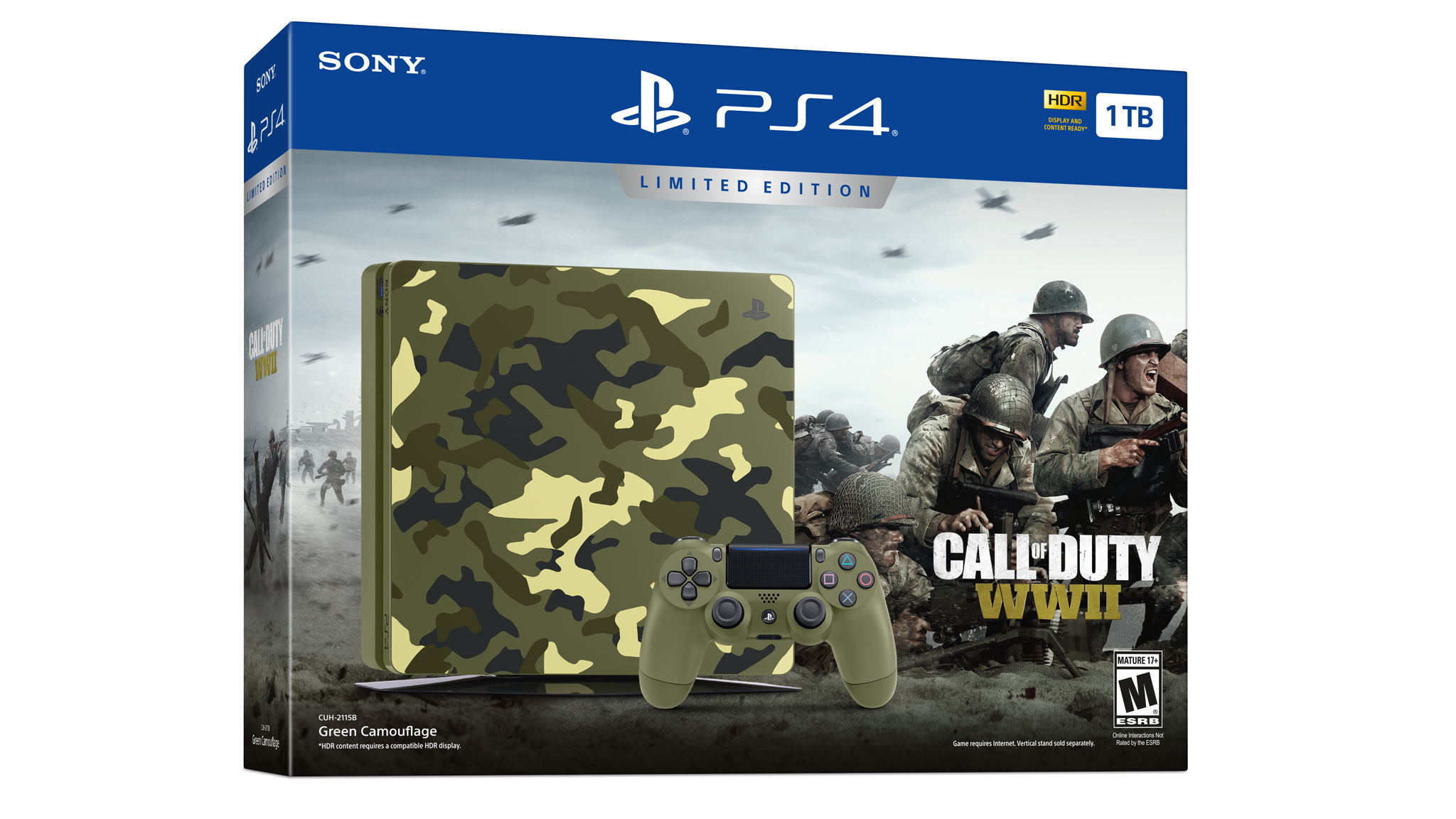 Limitovaná edice PS4 s Call of Duty: WWII 149915