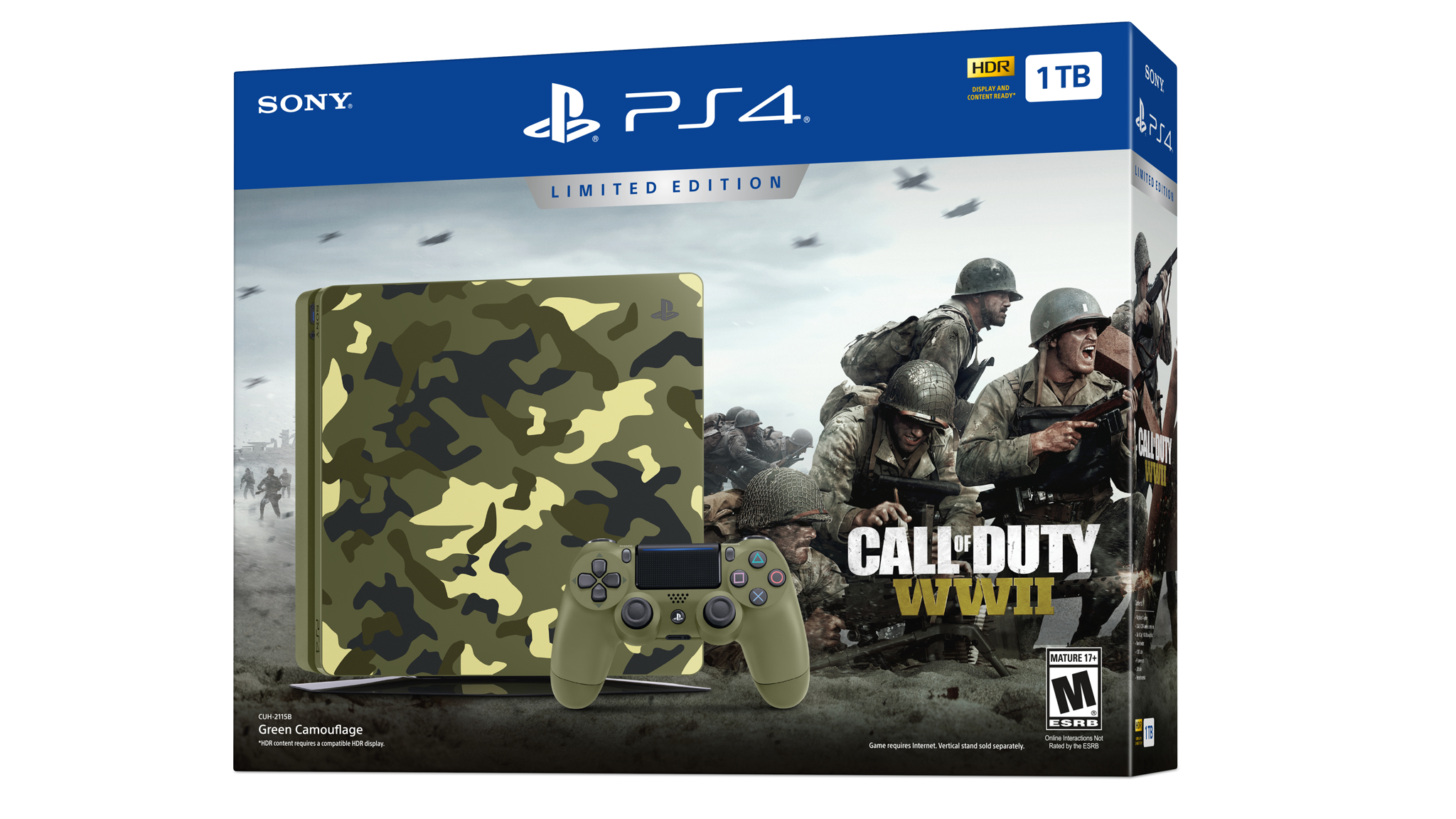 Limitovaná edice PS4 s Call of Duty: WWII 149919