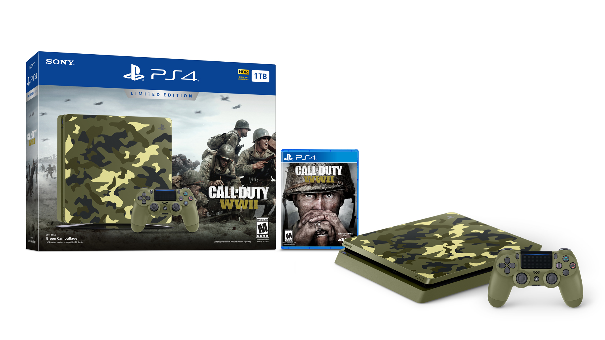 Limitovaná edice PS4 s Call of Duty: WWII 149920