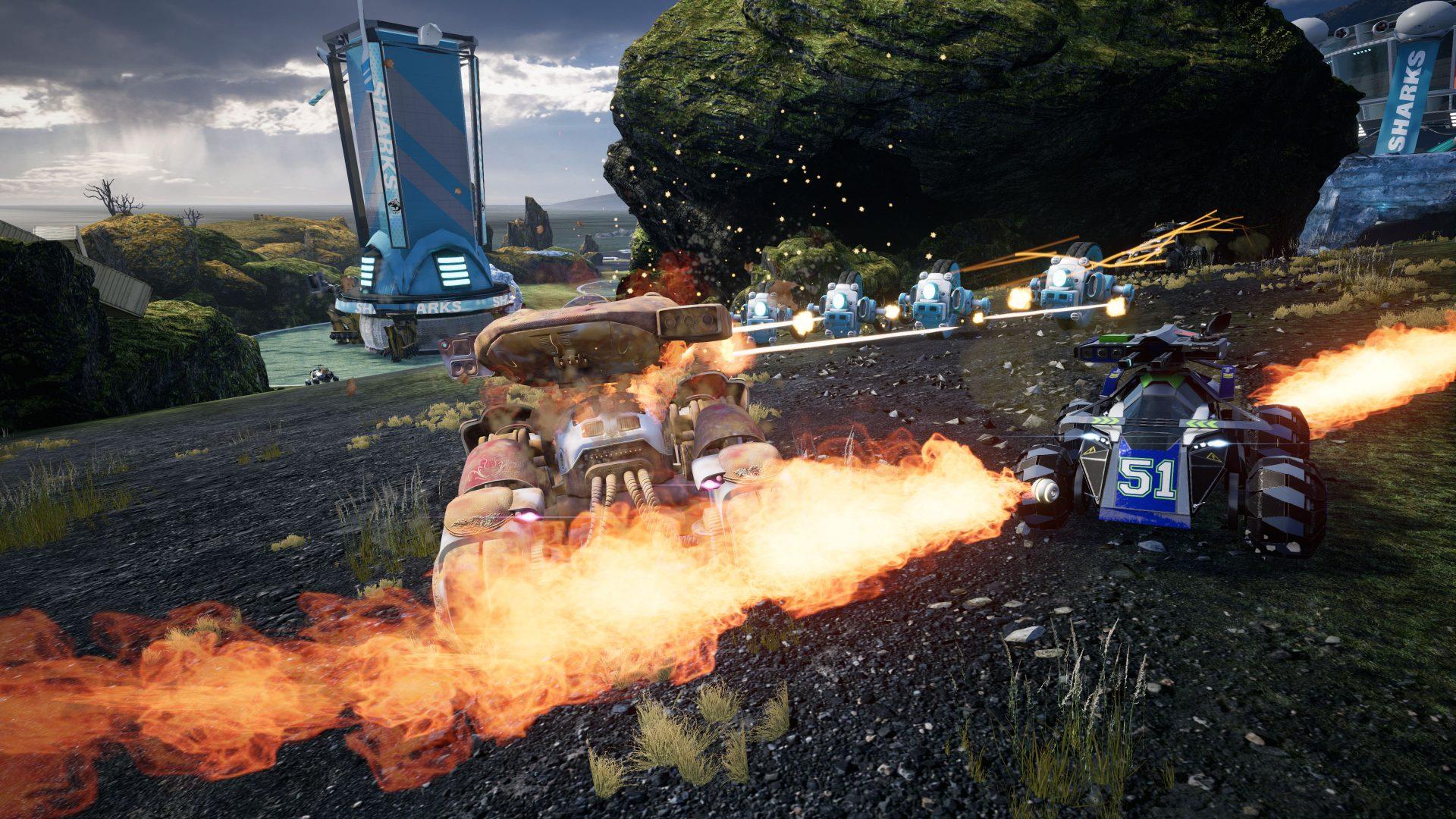 Ex-autoři Blur připravují akční závody Switchblade 149984