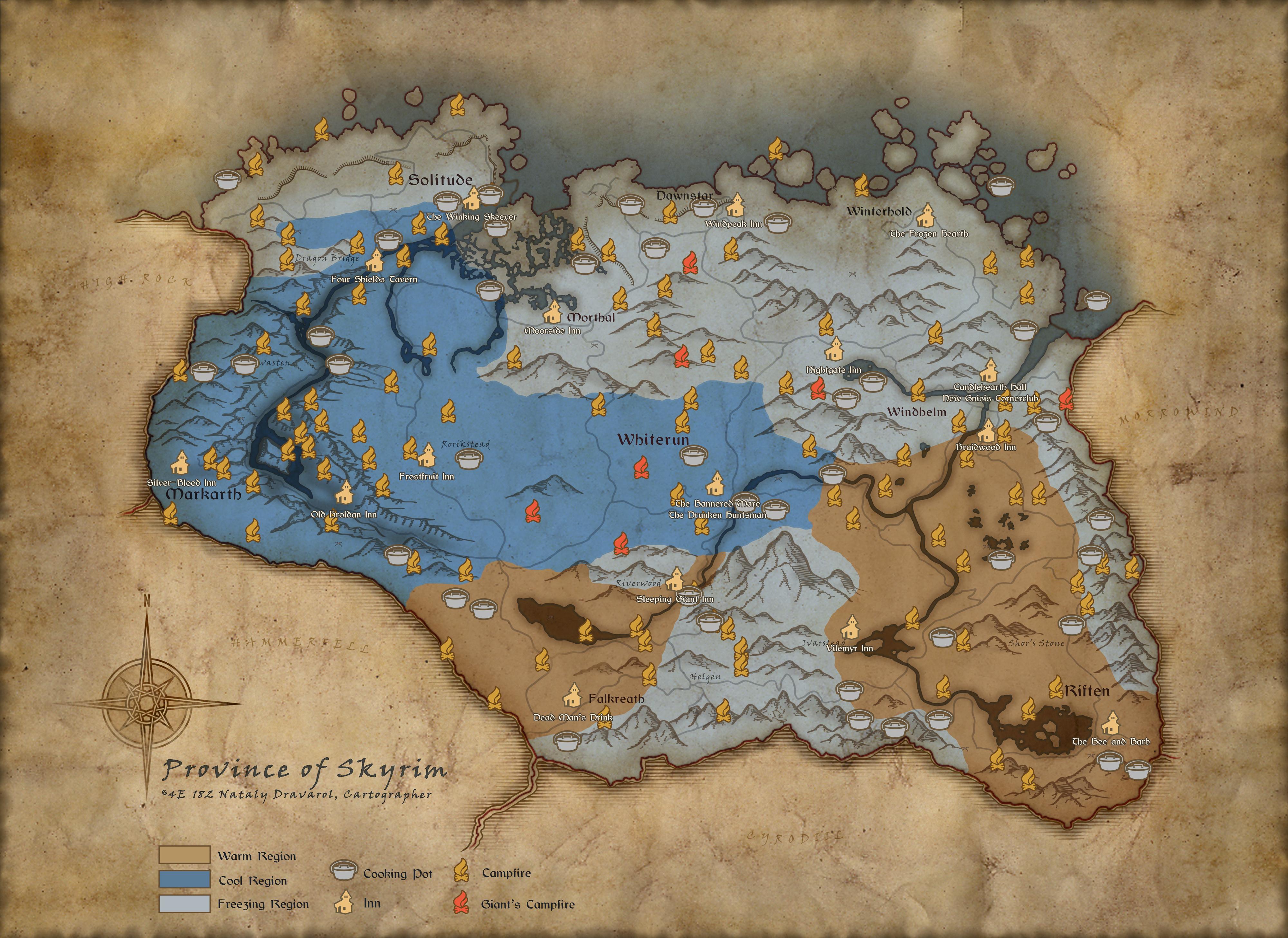 Skyrim Special Edition se dočká Survival režimu 150438