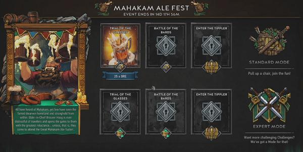 Gwent: The Witcher Card Game čeká mahakamský pivní festival 150441
