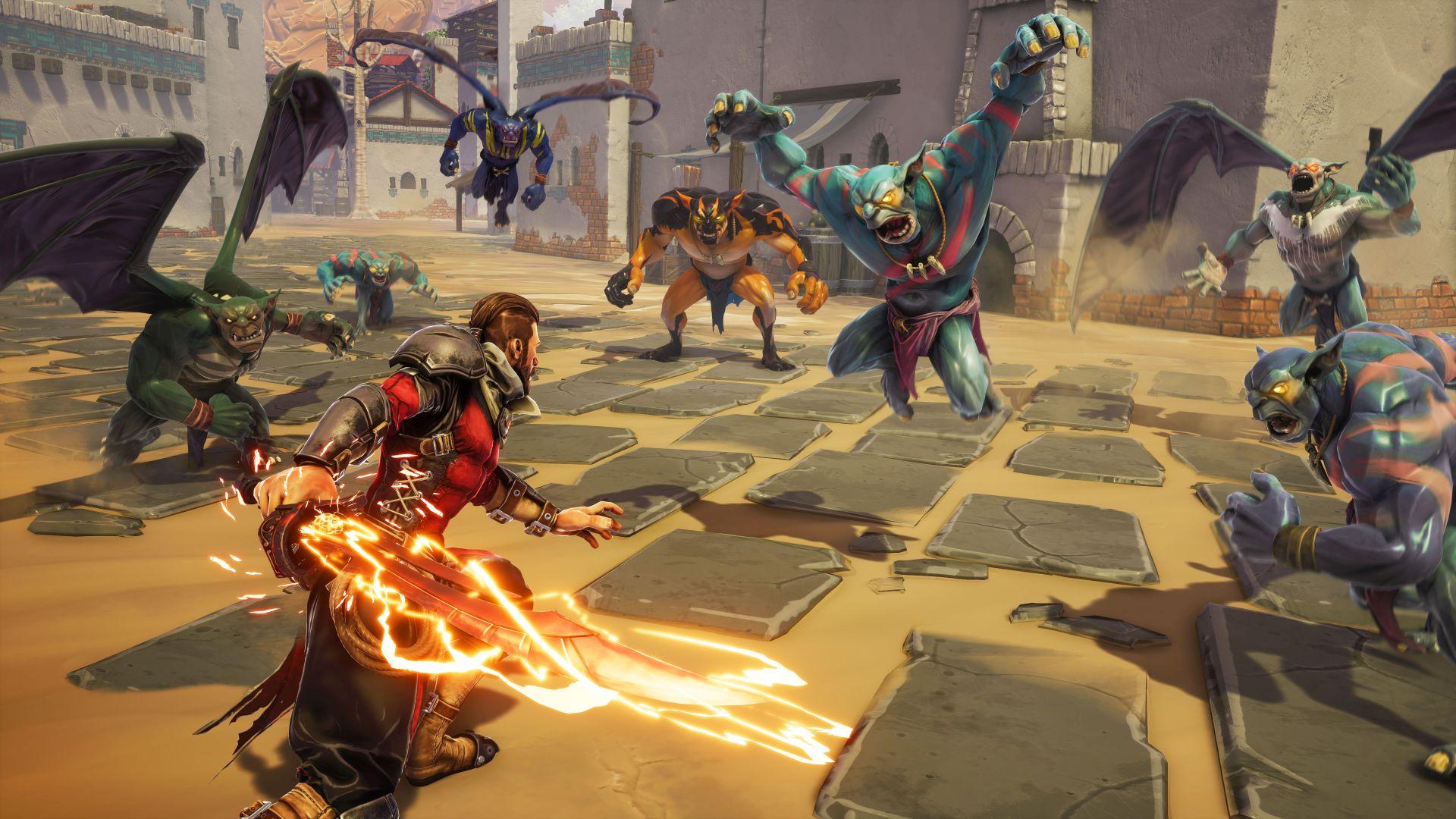 Mohutní obři v gameplay traileru z Extinction od Iron Galax 150773