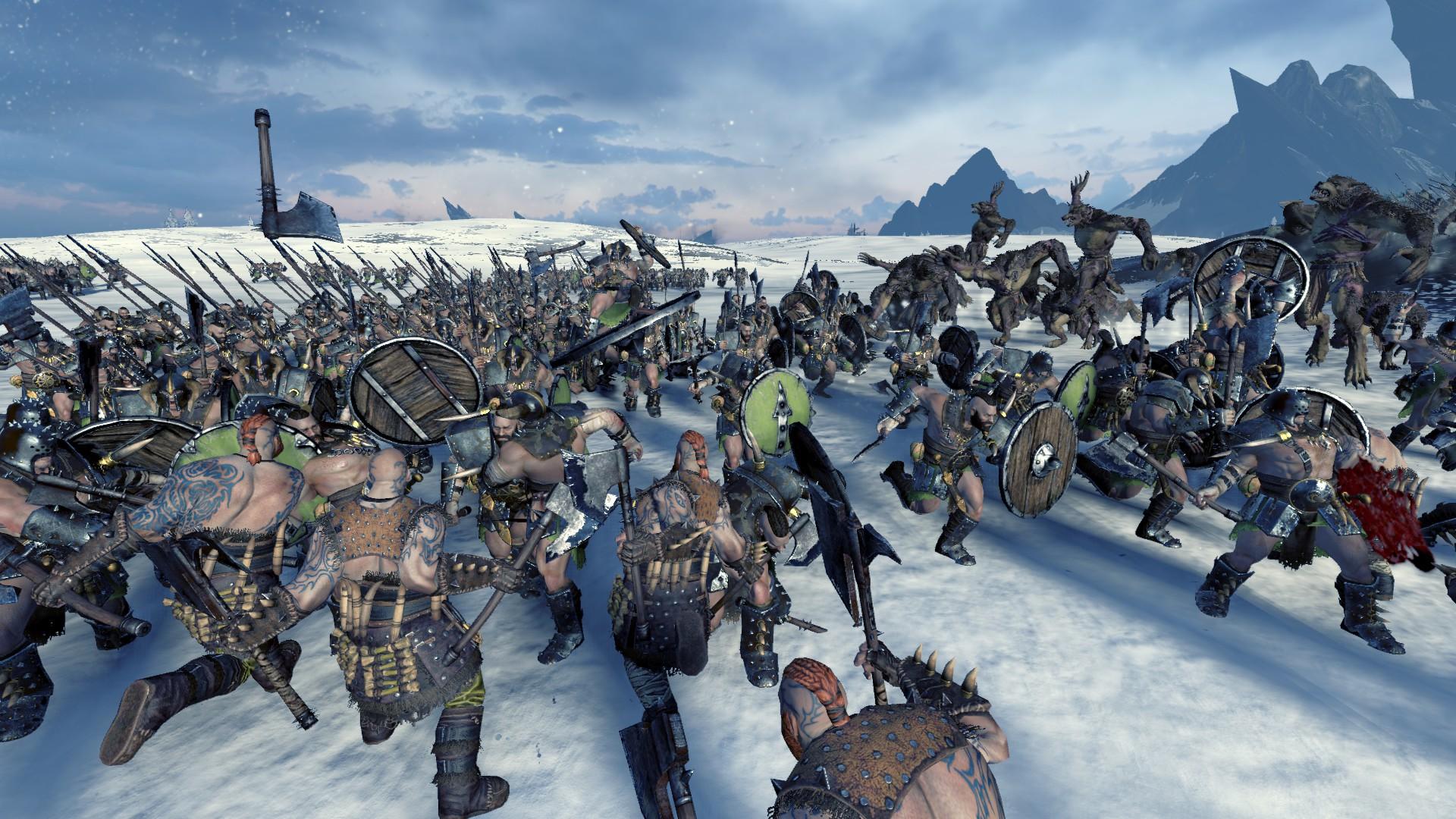 Total War: Warhammer – Norsca fotospeciál z nemilosrdného severu 150844