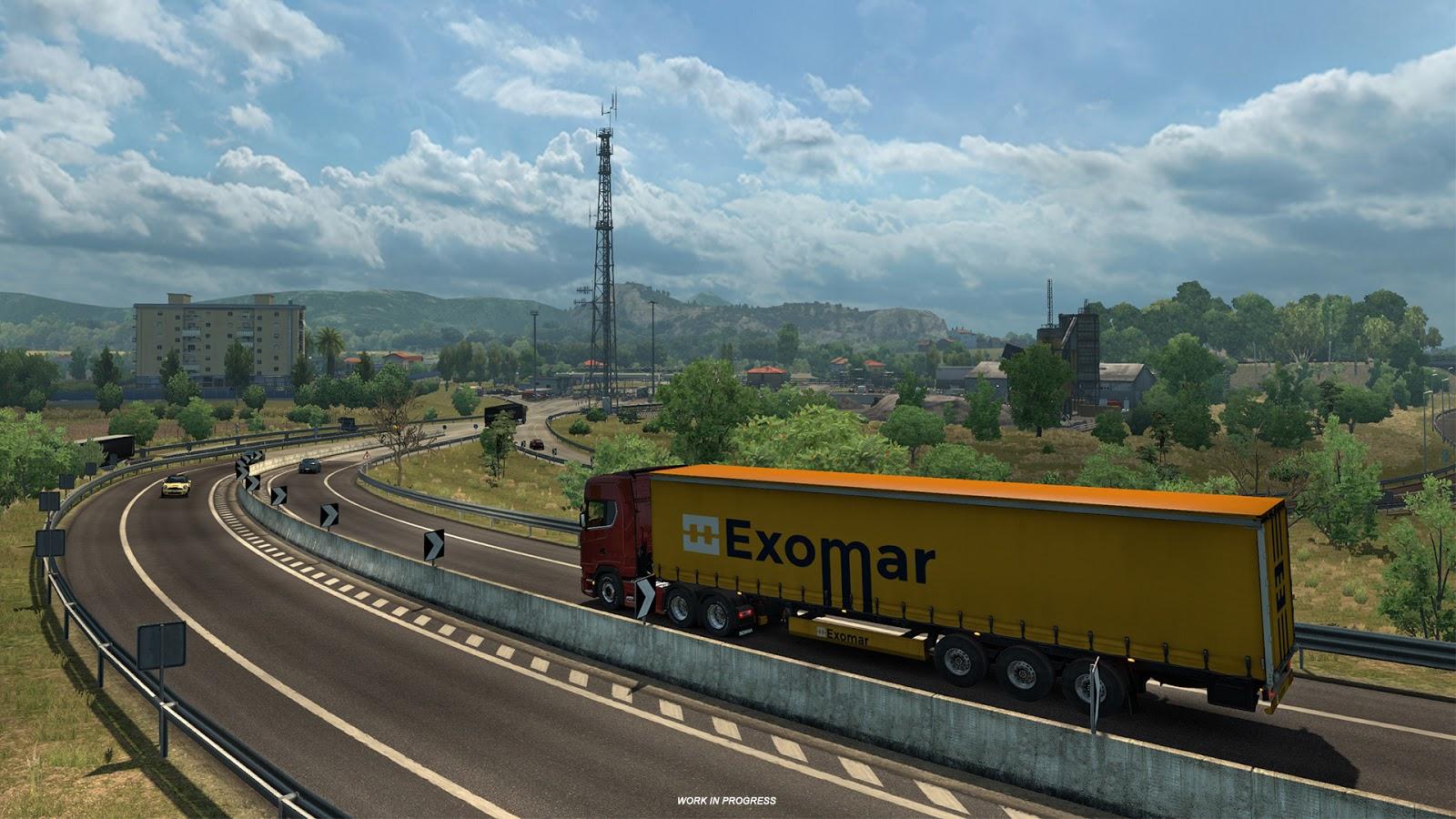 Ukázky průmyslového odvětví v italském rozšíření Euro Truck Simulatoru 2 150873