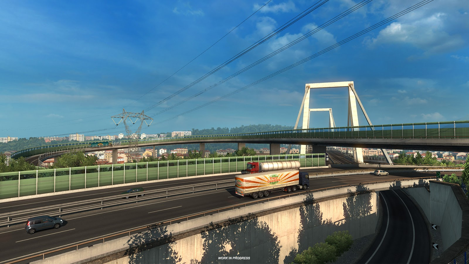 Ukázky průmyslového odvětví v italském rozšíření Euro Truck Simulatoru 2 150874