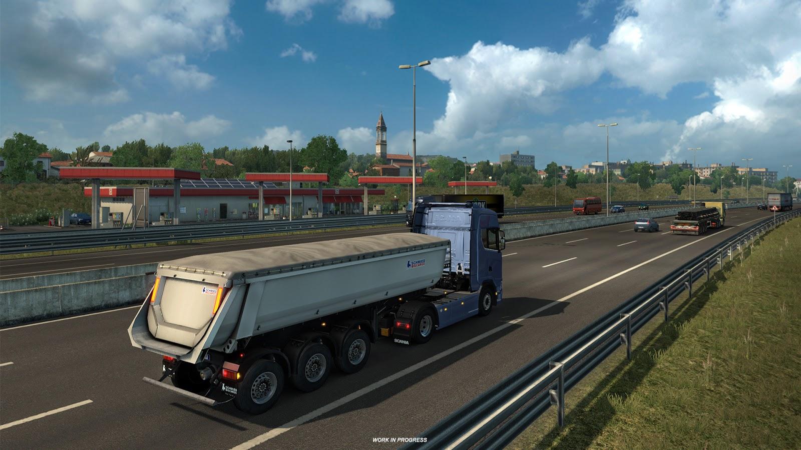 Ukázky průmyslového odvětví v italském rozšíření Euro Truck Simulatoru 2 150875
