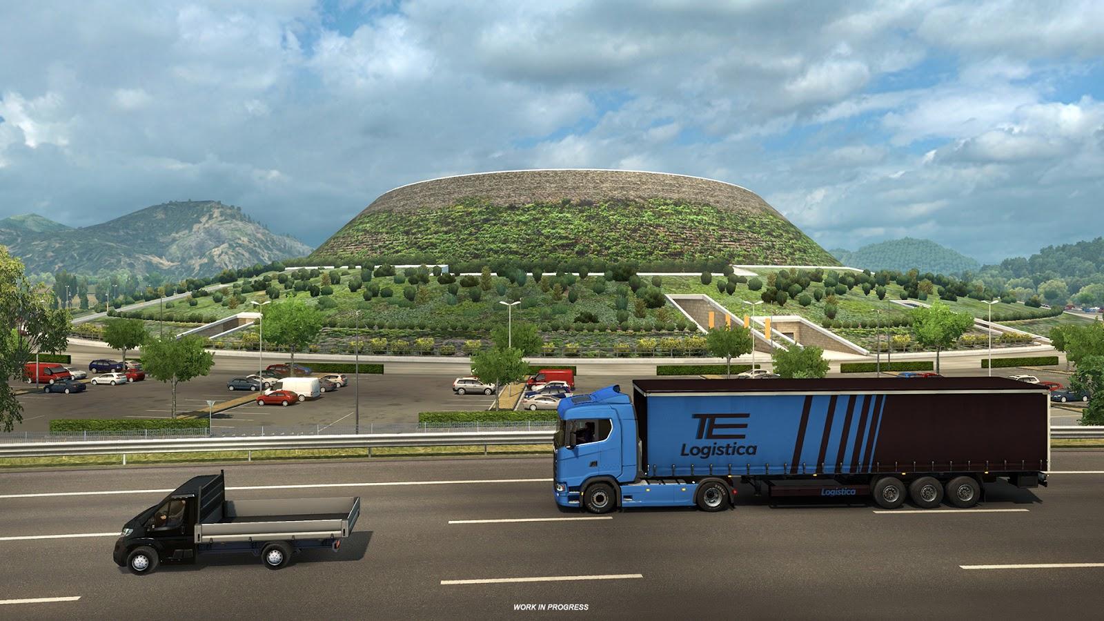 Ukázky průmyslového odvětví v italském rozšíření Euro Truck Simulatoru 2 150877