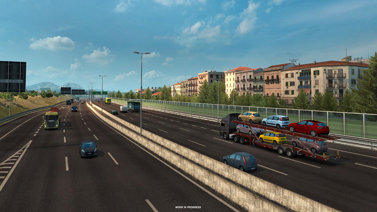 Ukázky průmyslového odvětví v italském rozšíření Euro Truck Simulatoru 2 150878