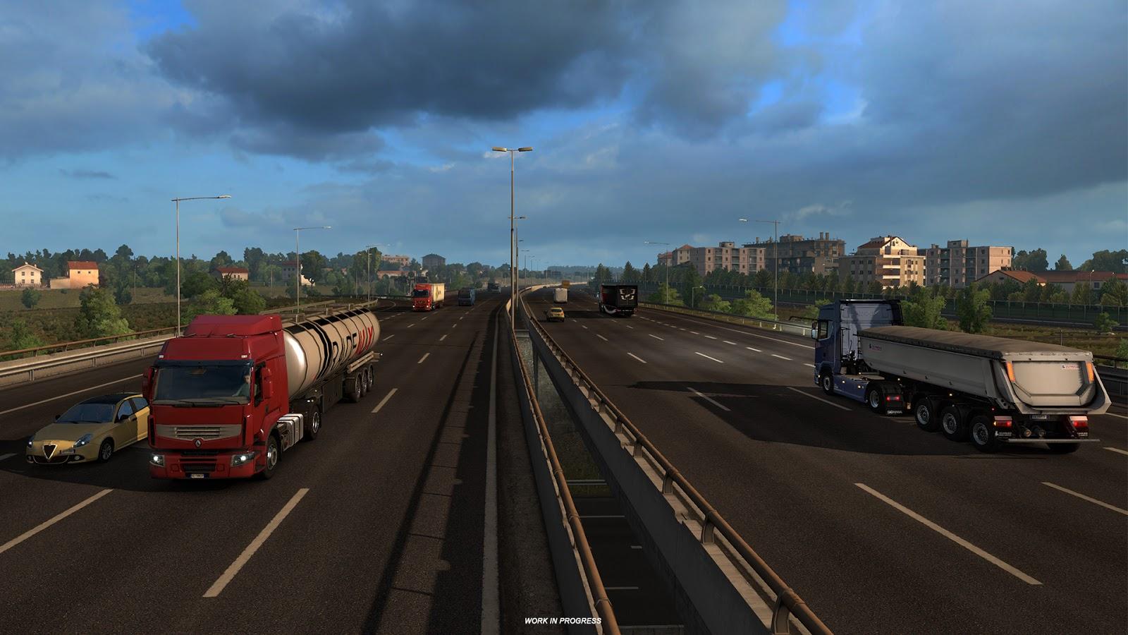 Ukázky průmyslového odvětví v italském rozšíření Euro Truck Simulatoru 2 150879