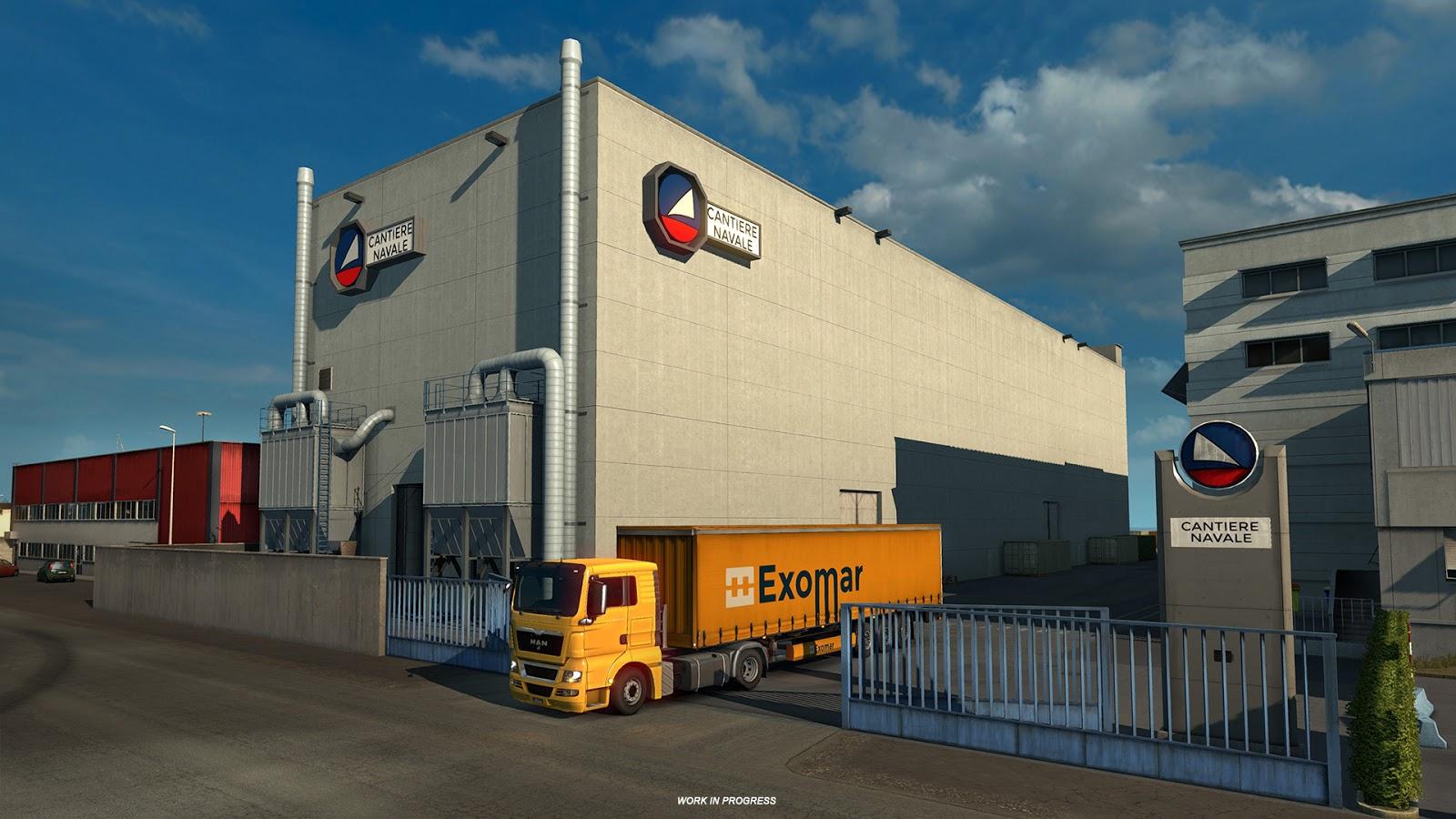 Ukázky průmyslového odvětví v italském rozšíření Euro Truck Simulatoru 2 150880