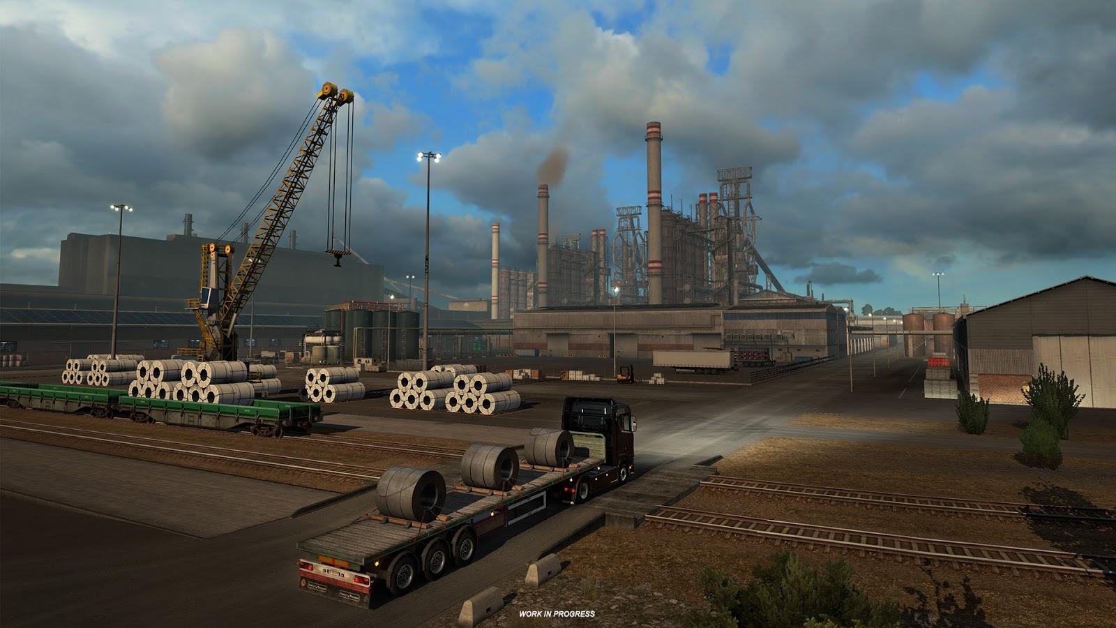 Ukázky průmyslového odvětví v italském rozšíření Euro Truck Simulatoru 2 150881