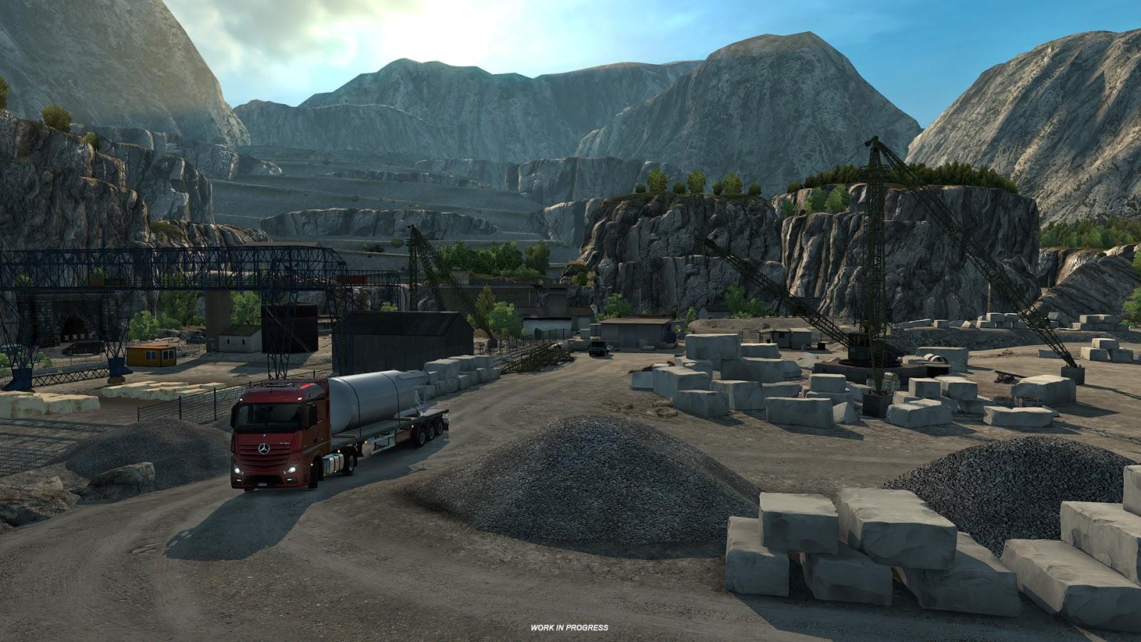 Ukázky průmyslového odvětví v italském rozšíření Euro Truck Simulatoru 2 150882