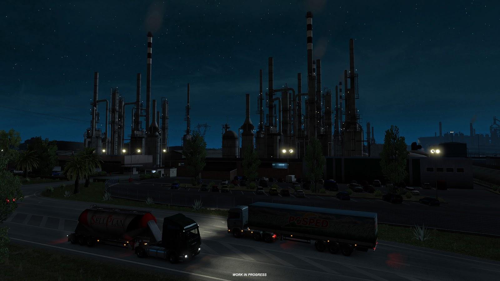 Ukázky průmyslového odvětví v italském rozšíření Euro Truck Simulatoru 2 150884