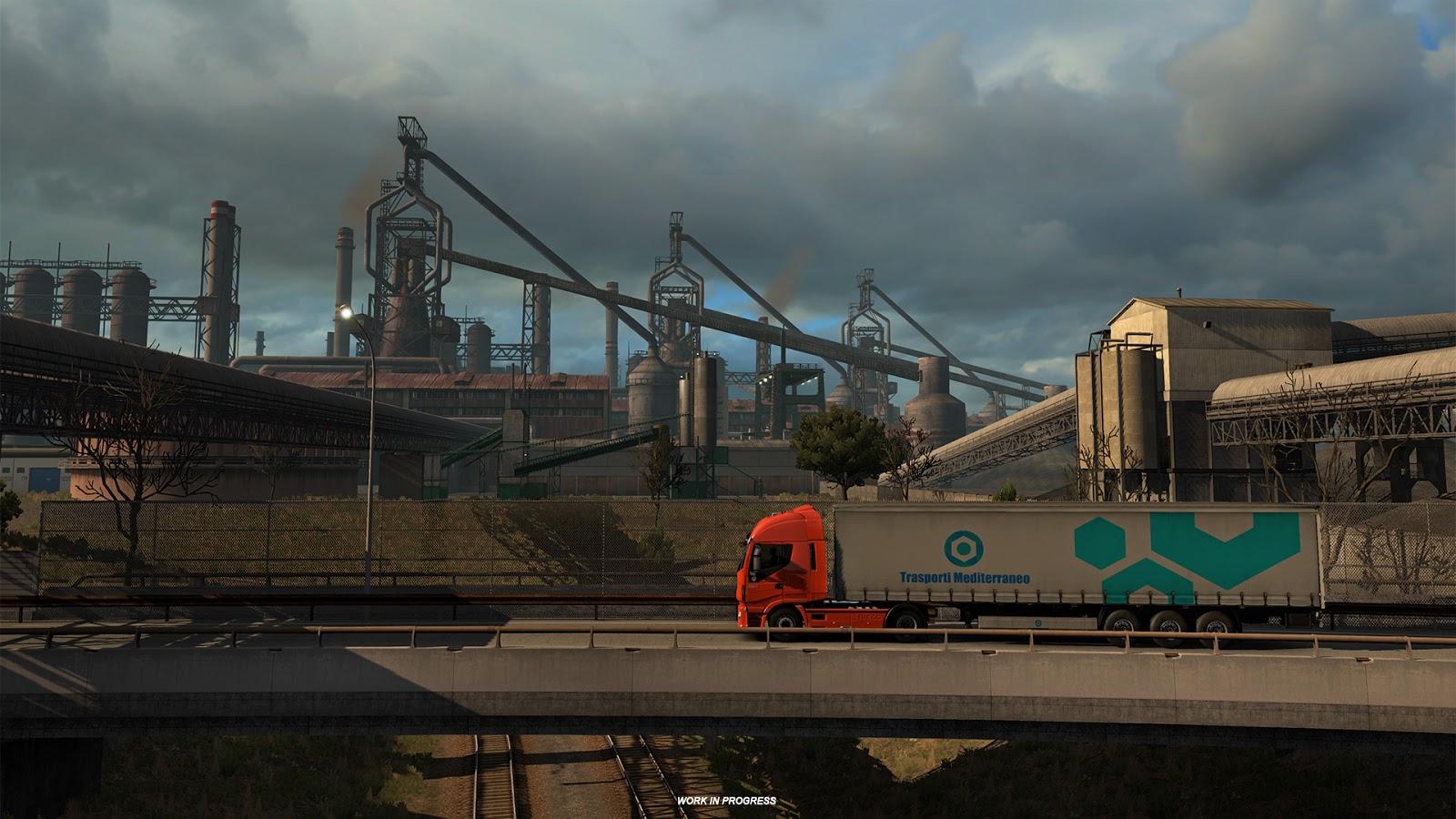 Ukázky průmyslového odvětví v italském rozšíření Euro Truck Simulatoru 2 150885