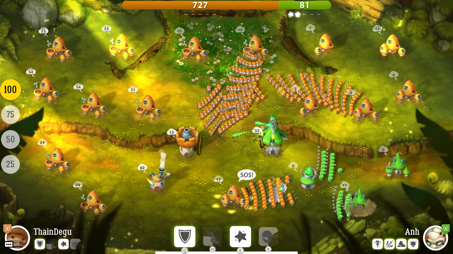 Mushroom Wars 2 – velká válka malých lidí 151011