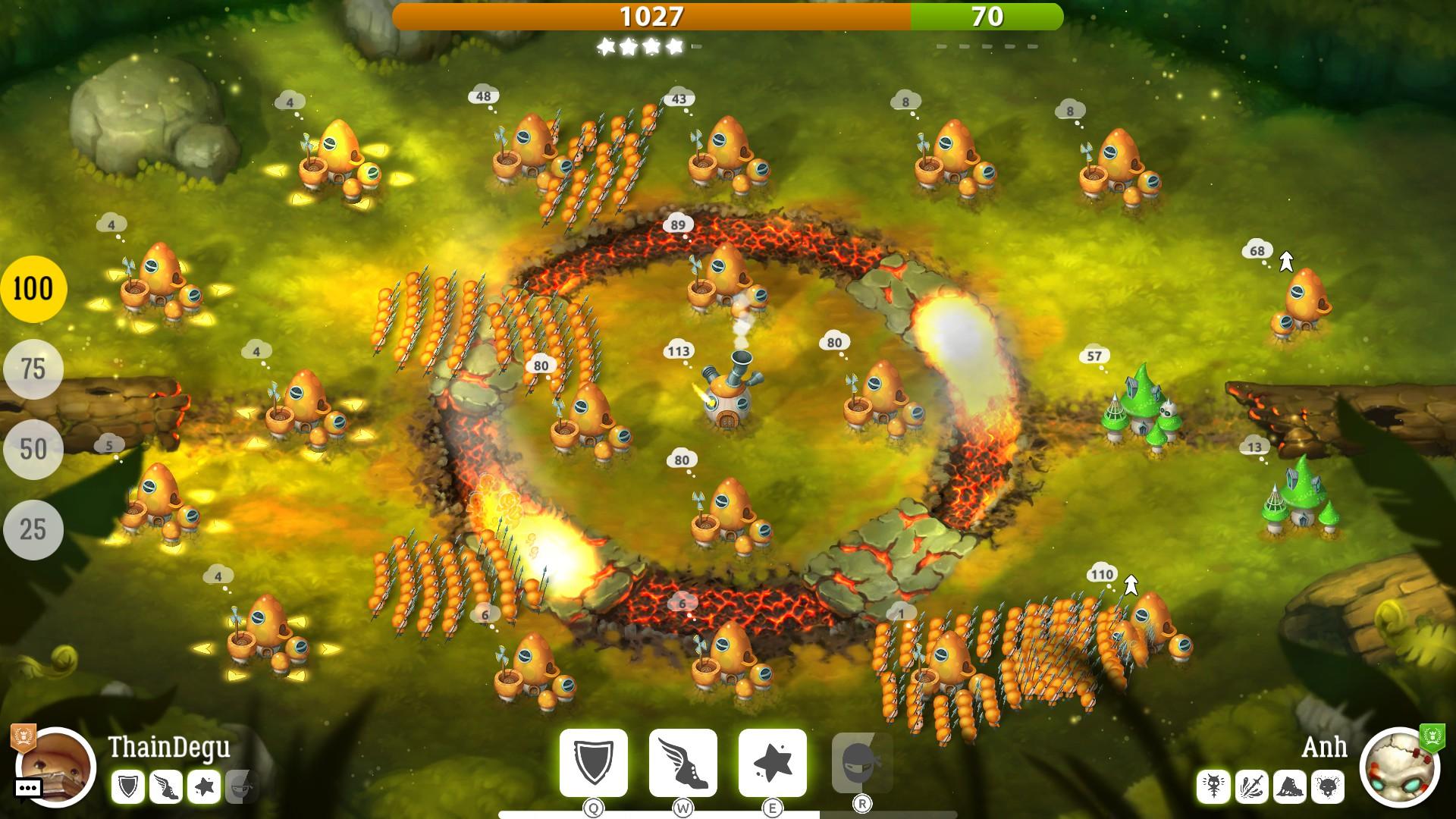 Mushroom Wars 2 – velká válka malých lidí 151012