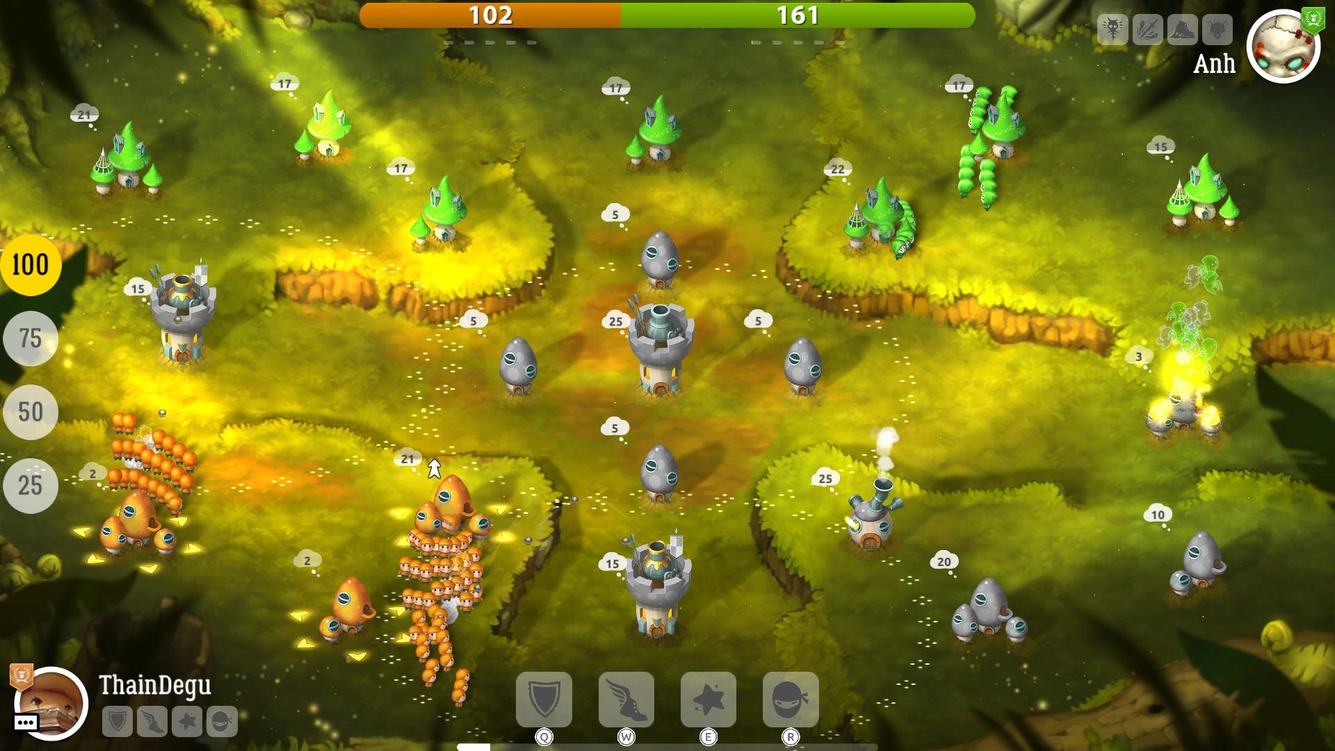 Mushroom Wars 2 – velká válka malých lidí 151018