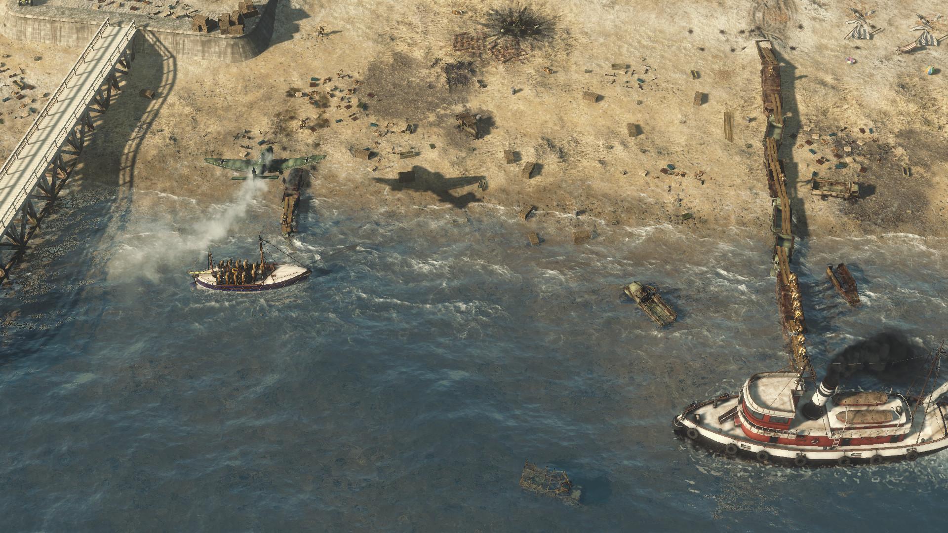 První rozšíření Sudden Strike 4 mapuje operaci Dynamo 151042