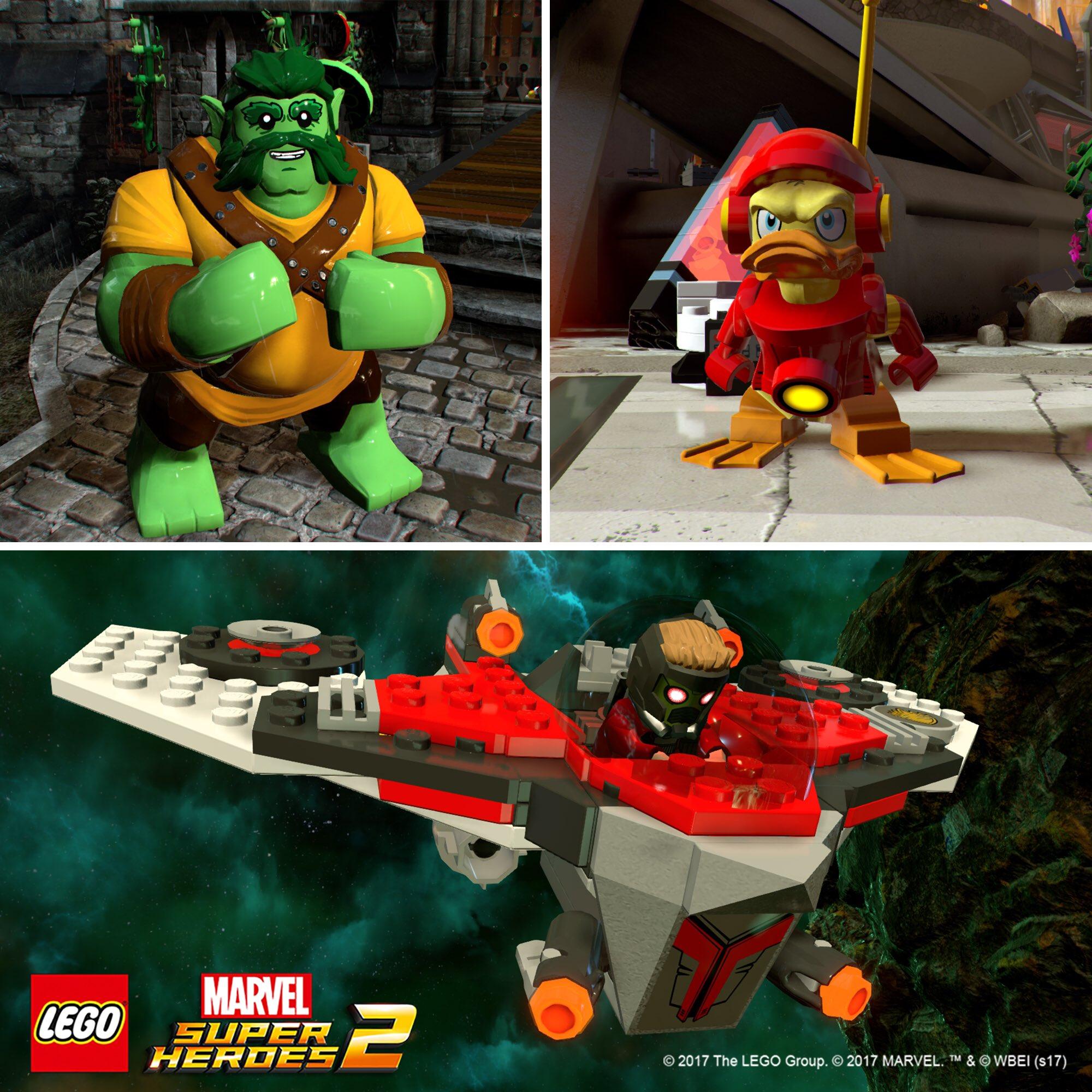 Season Pass LEGO Marvel Super Heroes 2 s obsahem inspirovaným chystanými filmy 151064