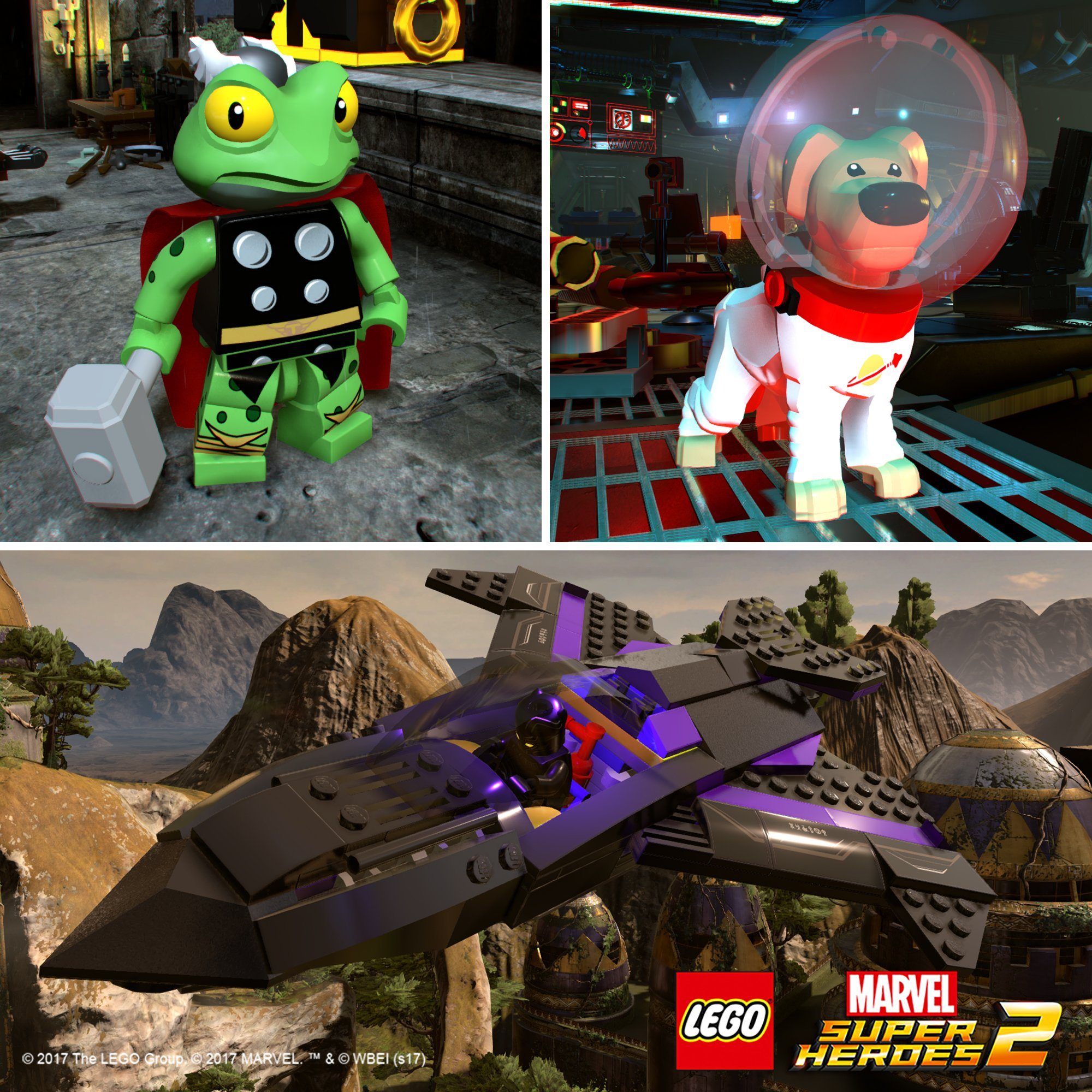 Season Pass LEGO Marvel Super Heroes 2 s obsahem inspirovaným chystanými filmy 151065