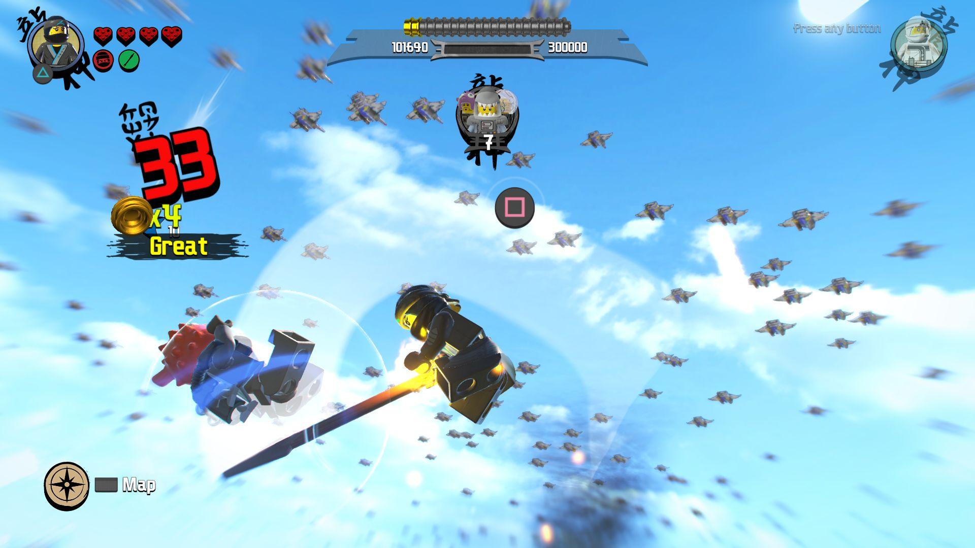 LEGO Ninjago Movie Video Game - jak se legáček nindžou stal 151105
