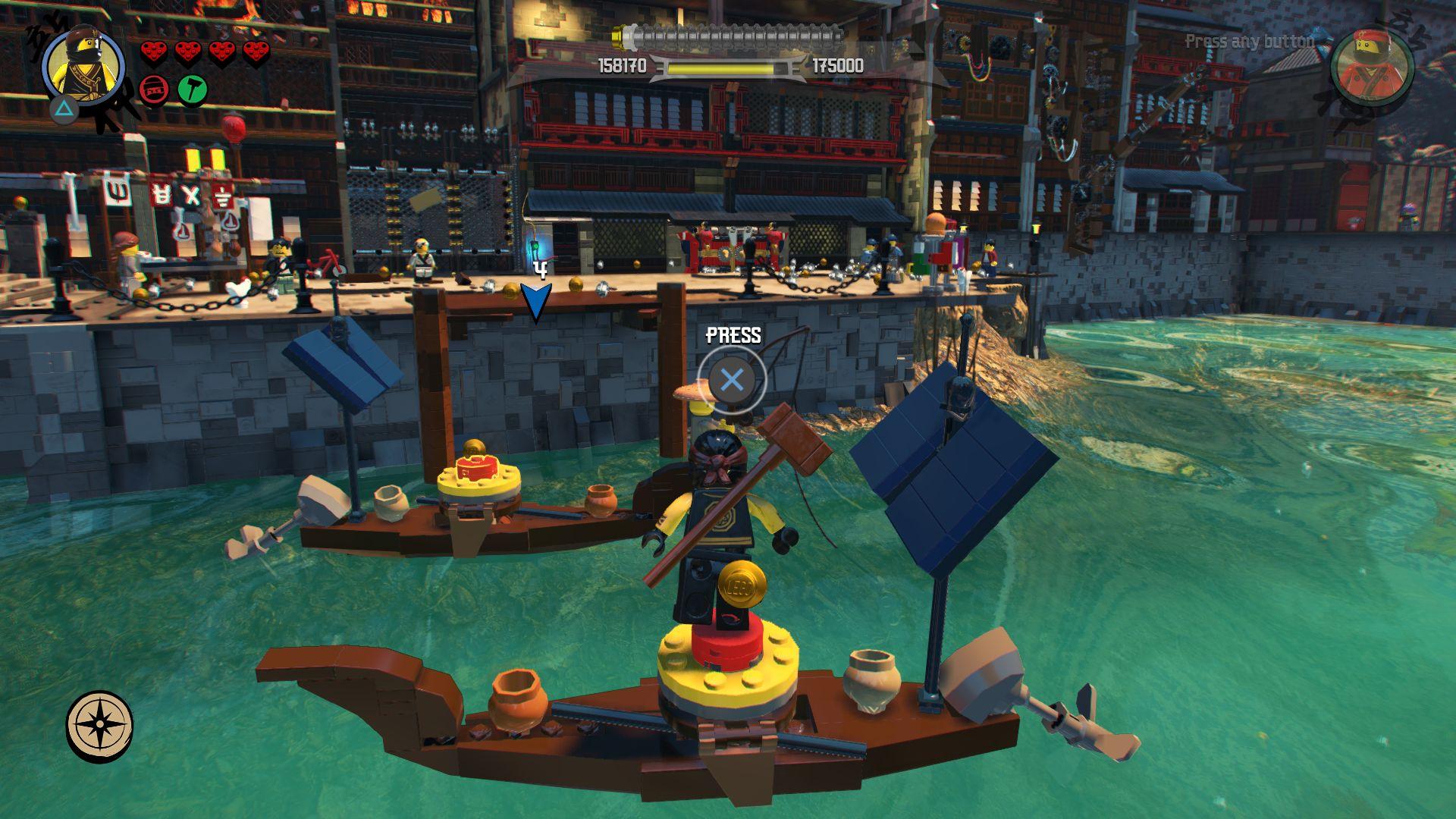 LEGO Ninjago Movie Video Game - jak se legáček nindžou stal 151110