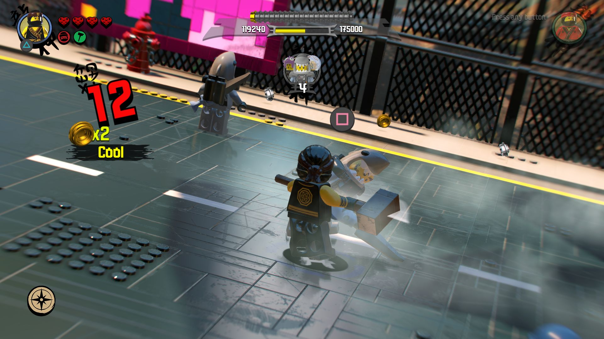 LEGO Ninjago Movie Video Game - jak se legáček nindžou stal 151111