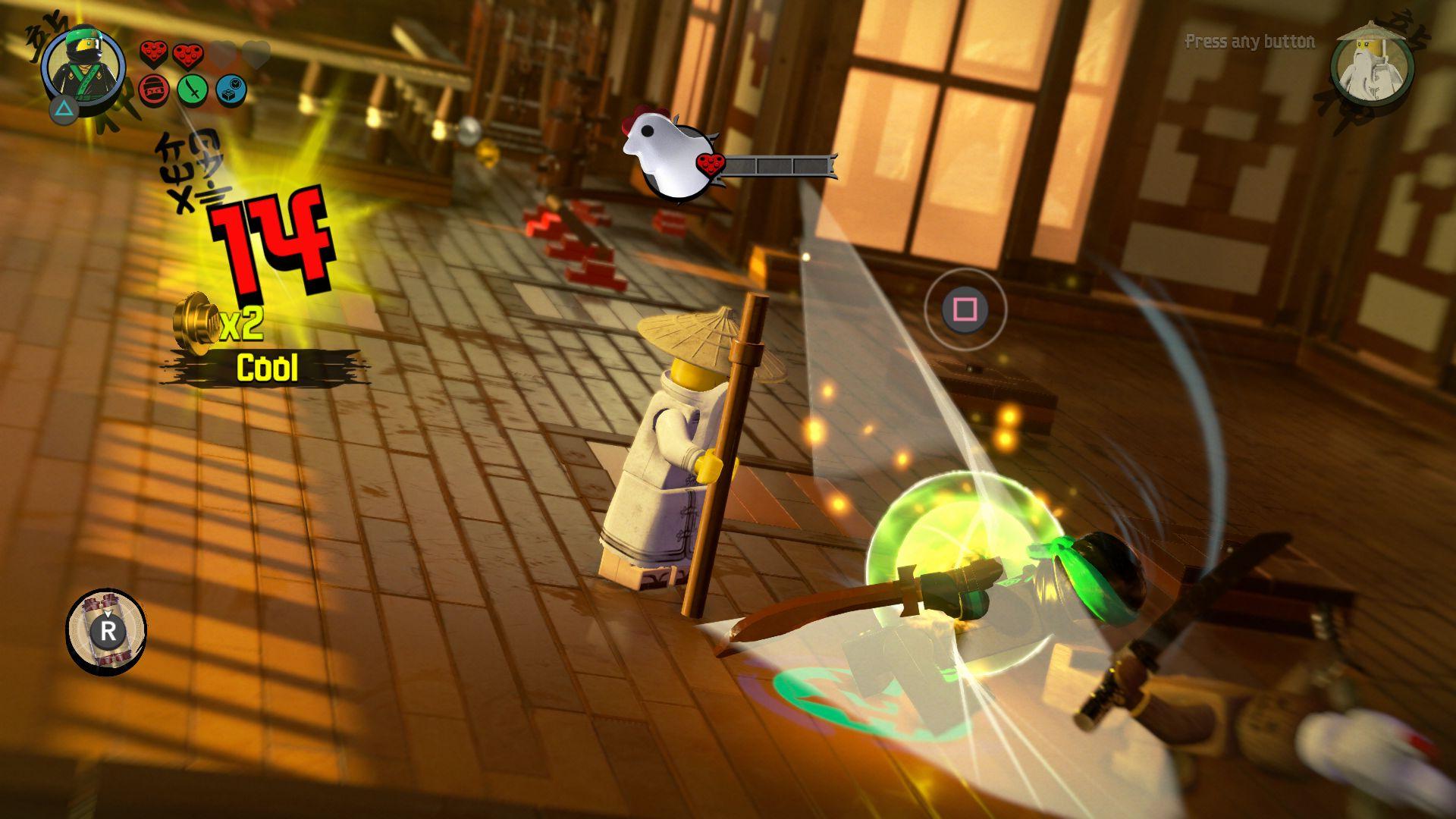 LEGO Ninjago Movie Video Game - jak se legáček nindžou stal 151113