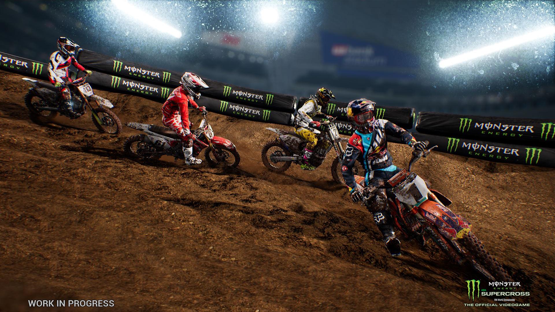 Milestone chystají motokrosové závody Monster Energy Supercross 151278