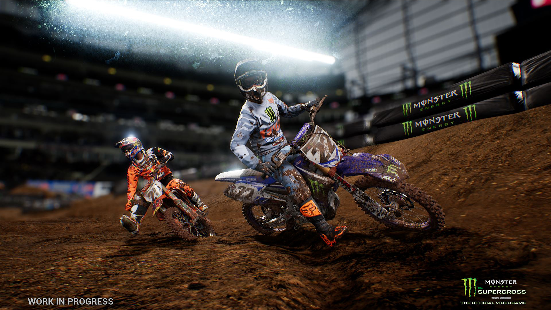 Milestone chystají motokrosové závody Monster Energy Supercross 151280