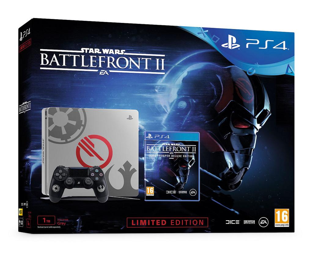 PS4 a PS4 Pro v barvách Star Wars: Battlefront 2 151410