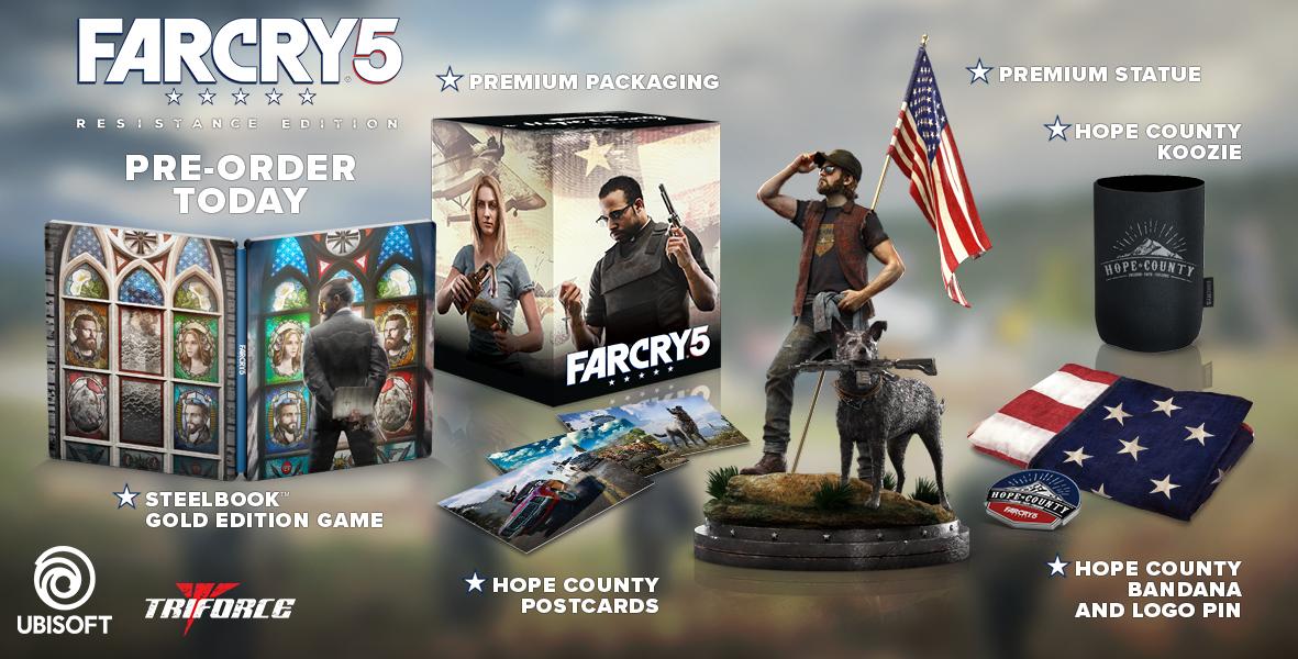 Odhalena Resistance edice Far Cry 5 151485