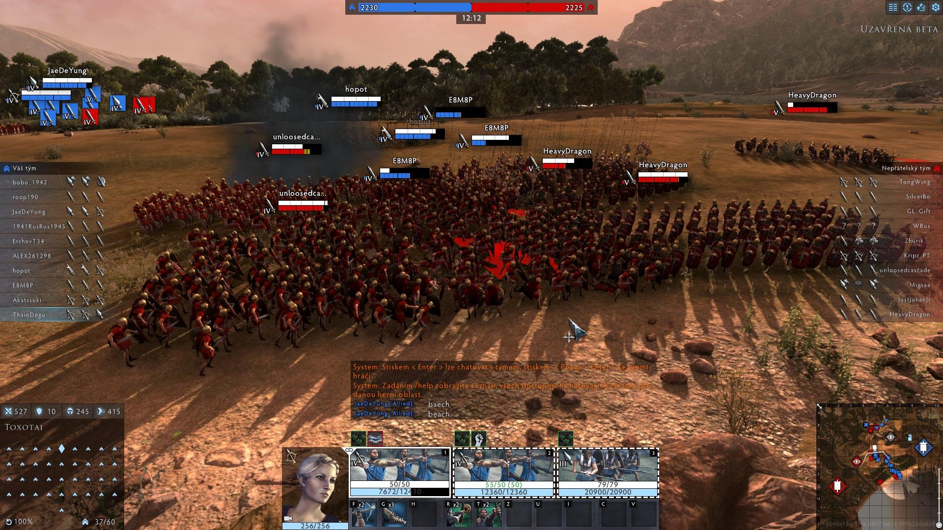 Do 4. prosince veřejná beta strategie Total War: Arena 151588