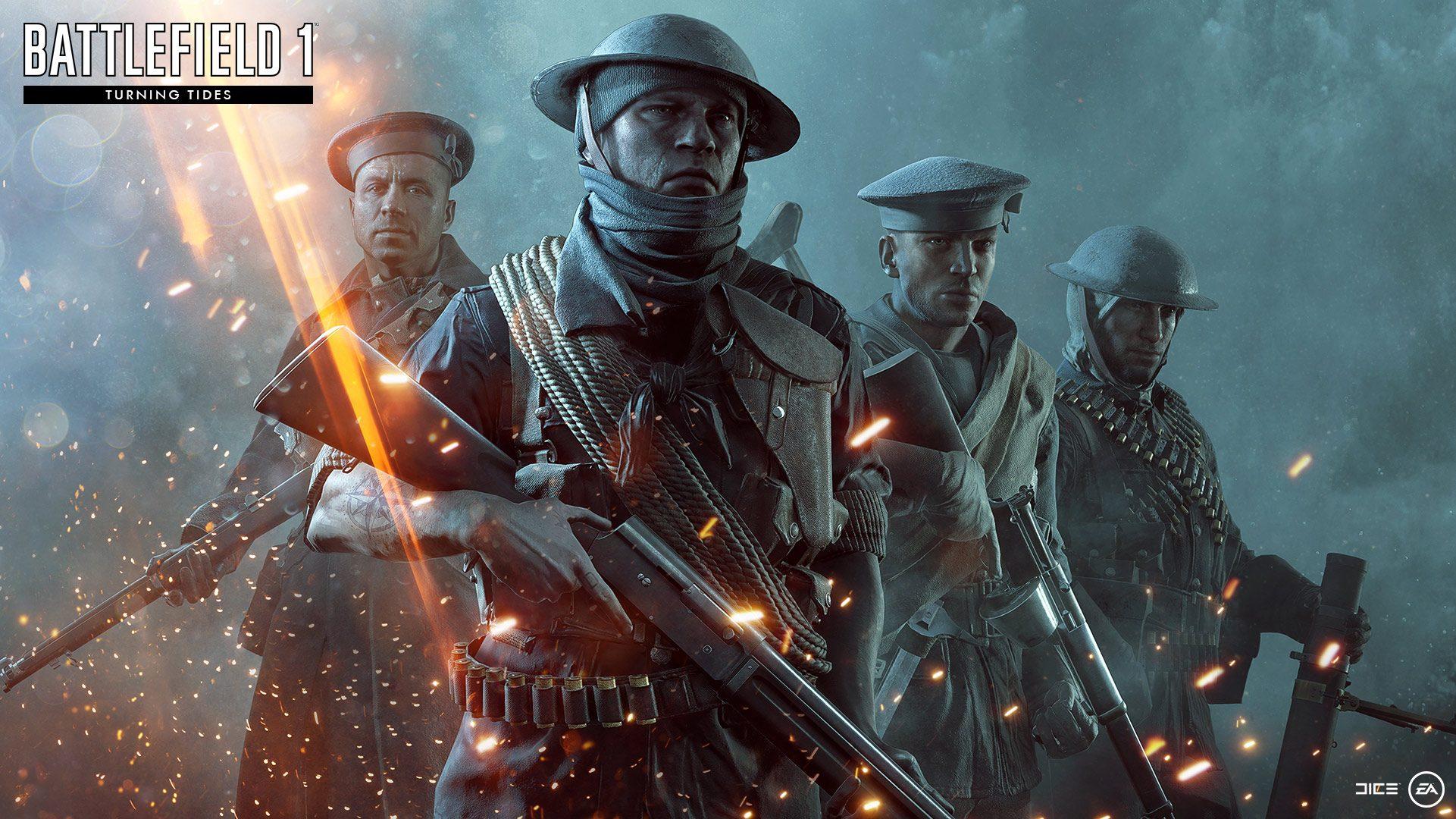 Nové koncepty přibližují první světovou válku v podání expanze Battlefield 1: Turning Tides 151676