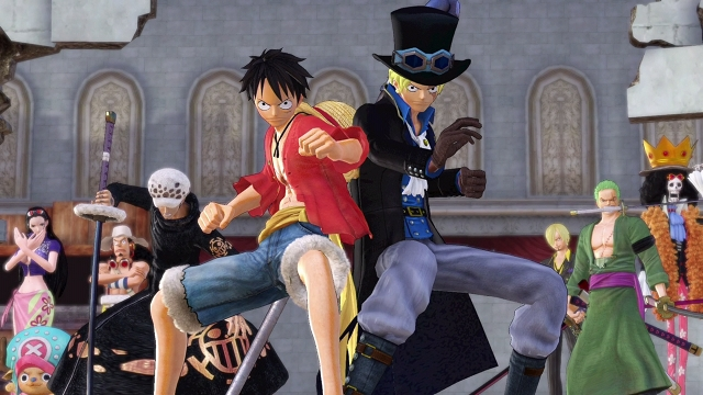 Na Switch oznámena Deluxe Edition One Piece: Pirate Warriors 3 151697