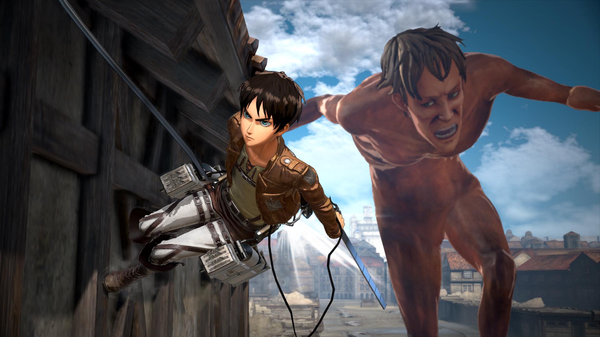 Proti nahatým obrům budete v Attack on Titan 2 bojovat v březnu 151728